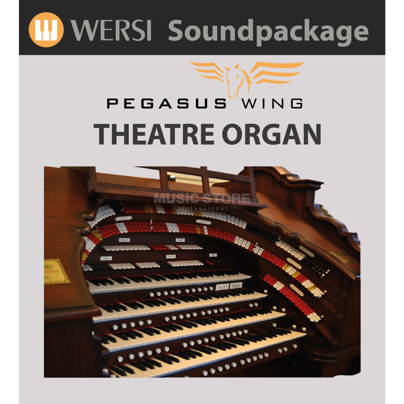 Wersi Theatre Sounds Soundpackage for Pegasus Wing Produktbillede