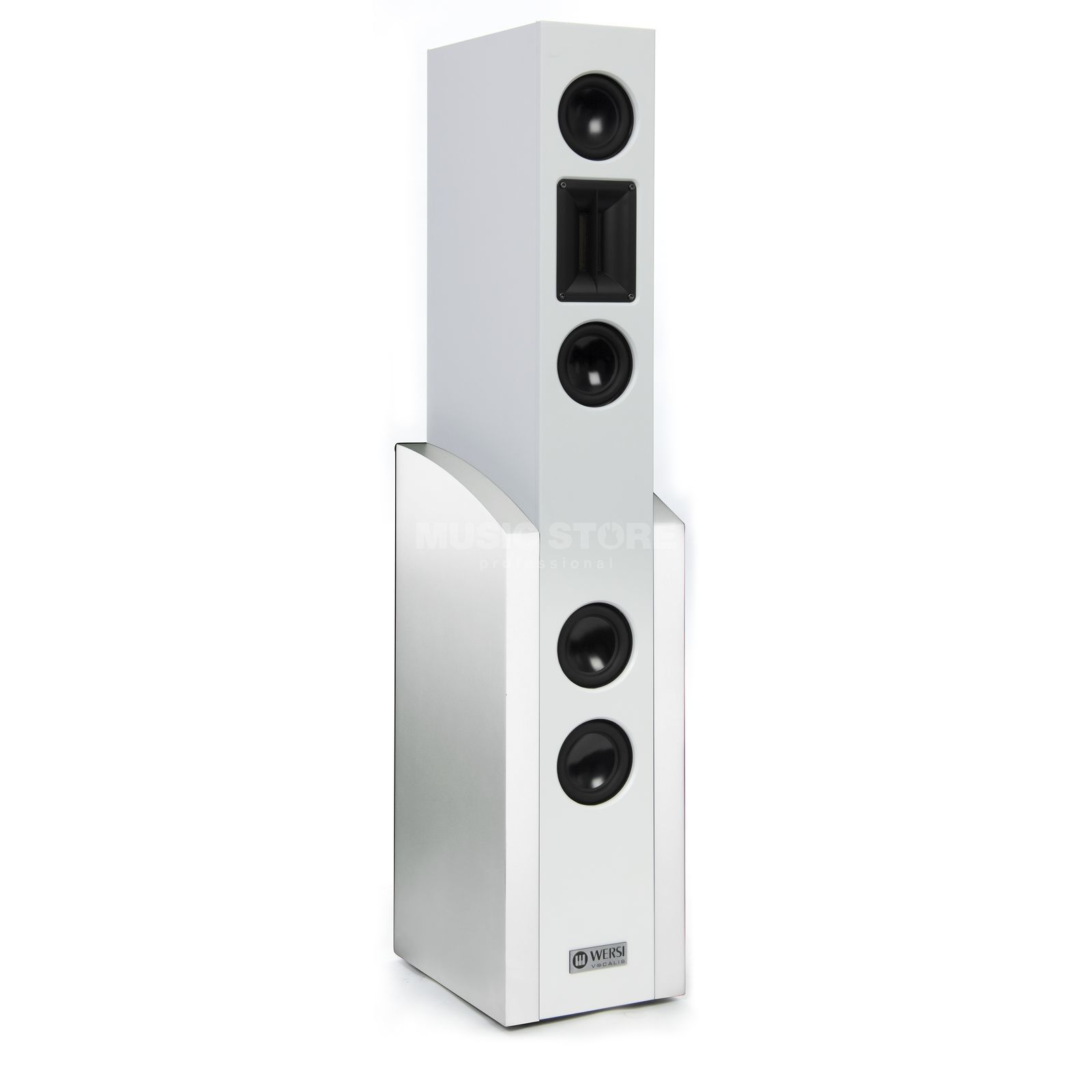 Wersi Vocalis 120 Perlmutt weiß High Definition Active Speaker Produktbild