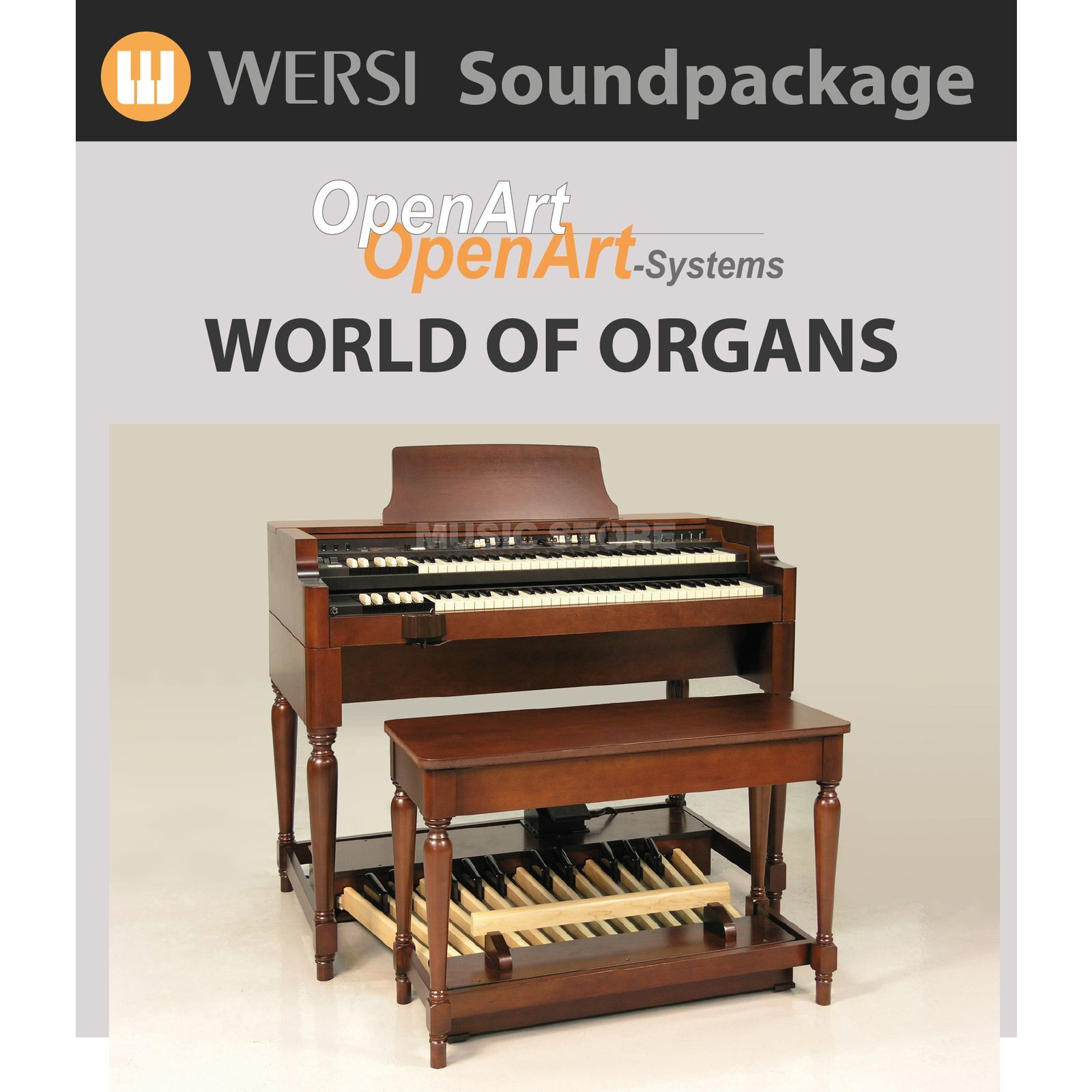 Wersi World of Organs (4003020) Soundpackage for OAS Produktbillede