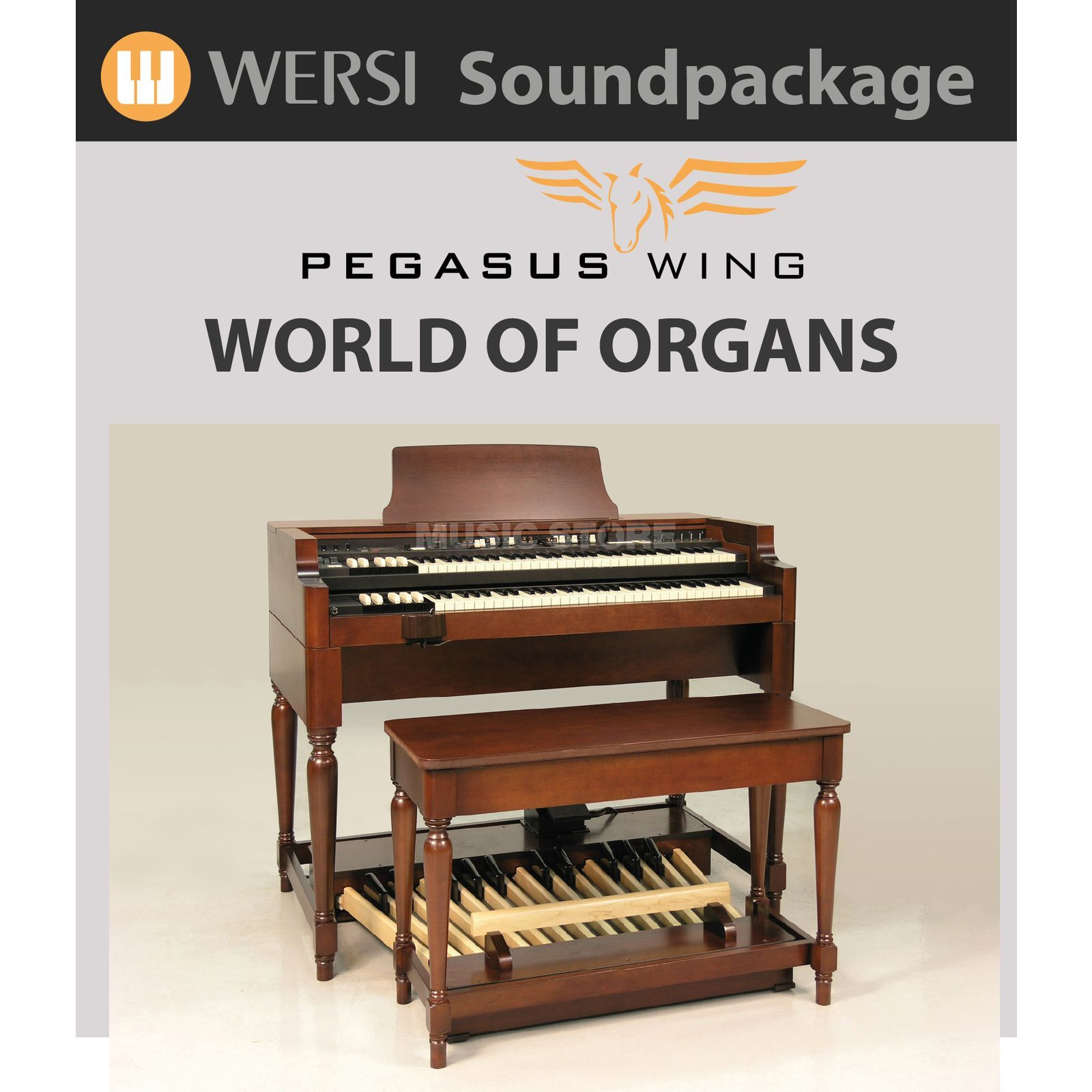 Wersi World of Organs Soundpack für Pegasus Wing Produktbild