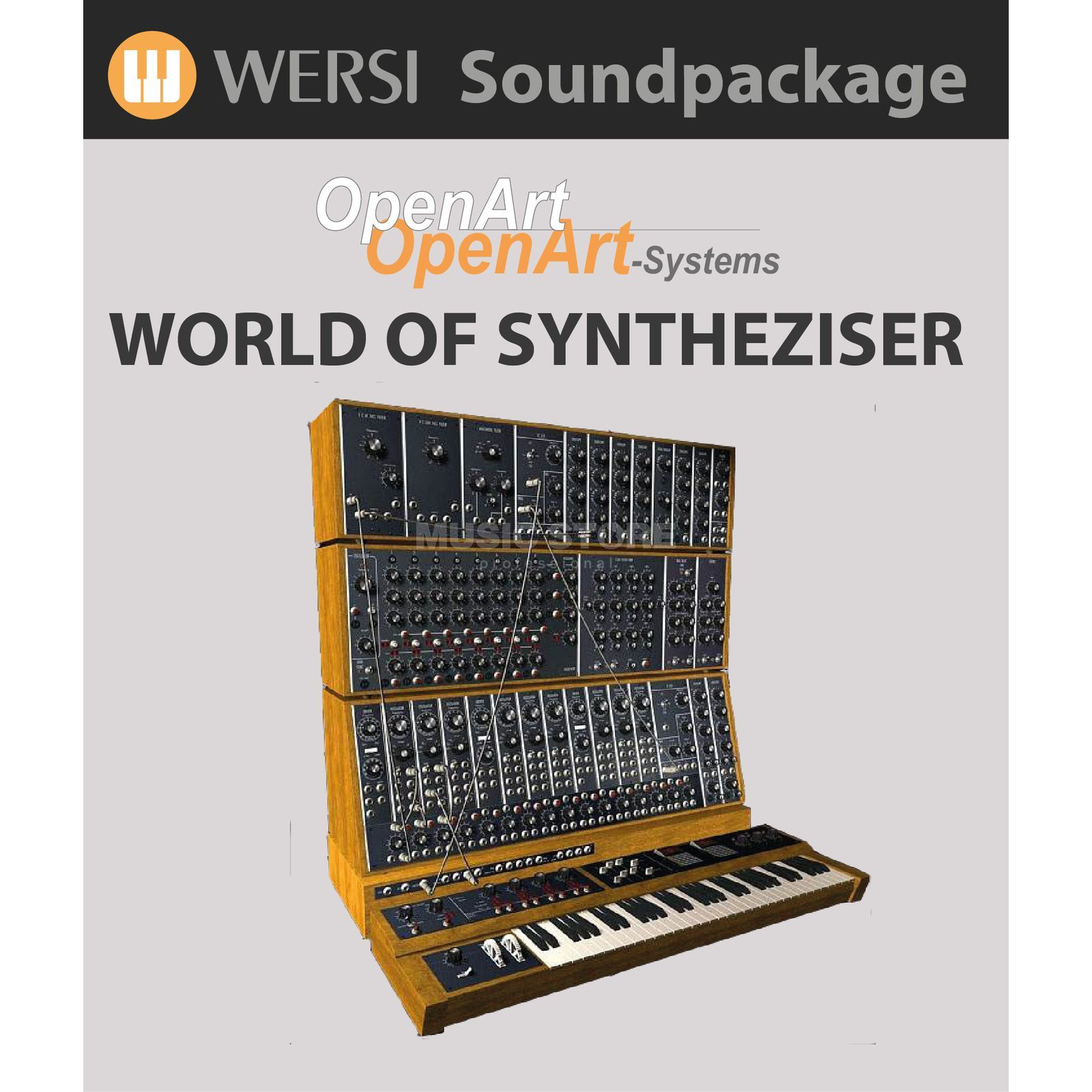 Wersi World of Synthesizer (4003030) Soundpackage für OAS Produktbild