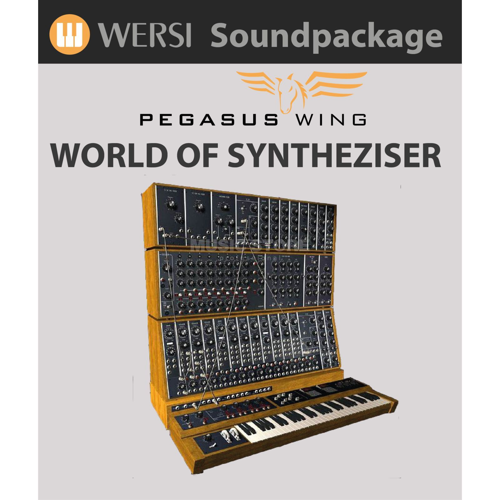 Wersi World of Synthesizer Soundpack für Pegasus Wing Produktbild