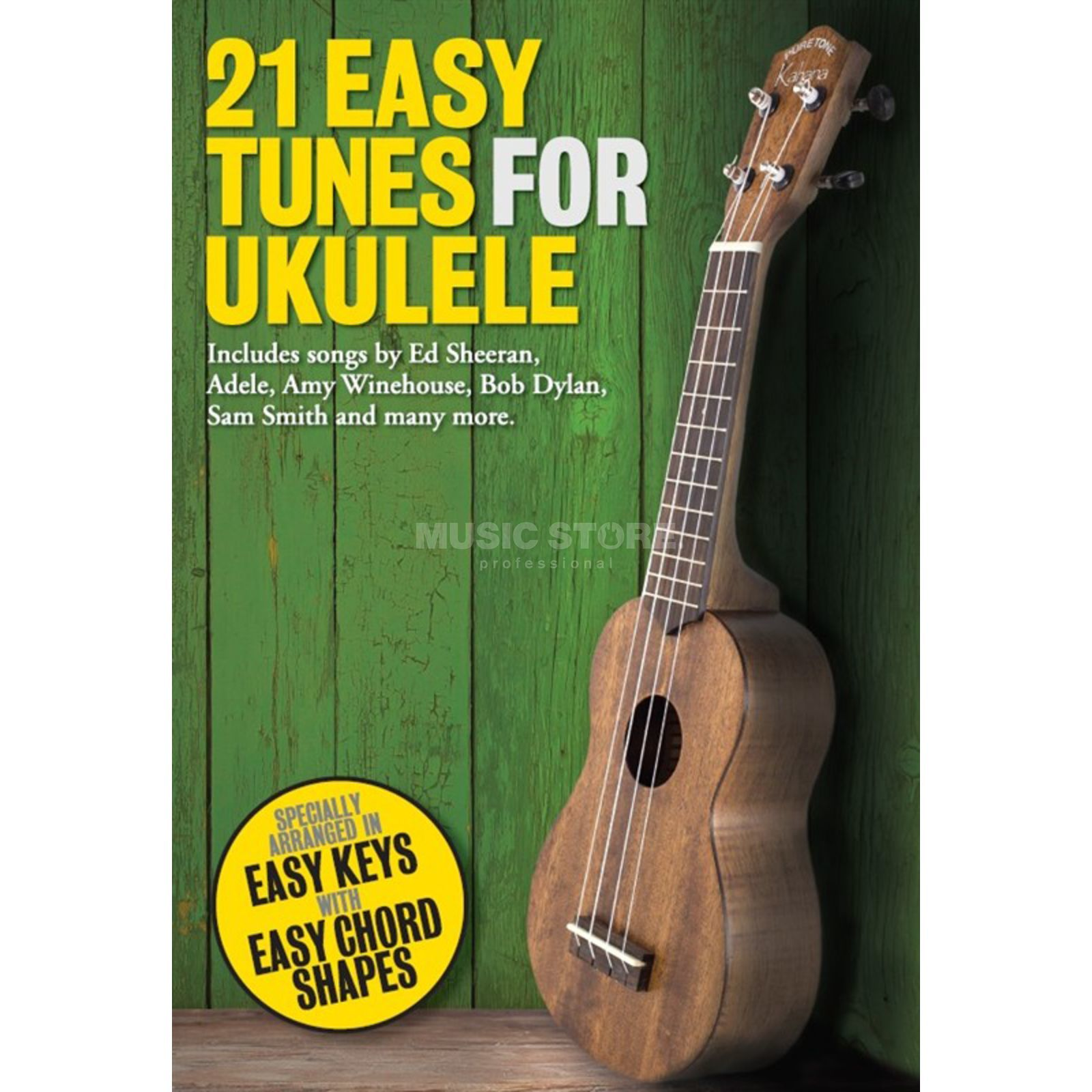 Wise Publications 21 Easy Tunes For Ukulele Produktbillede