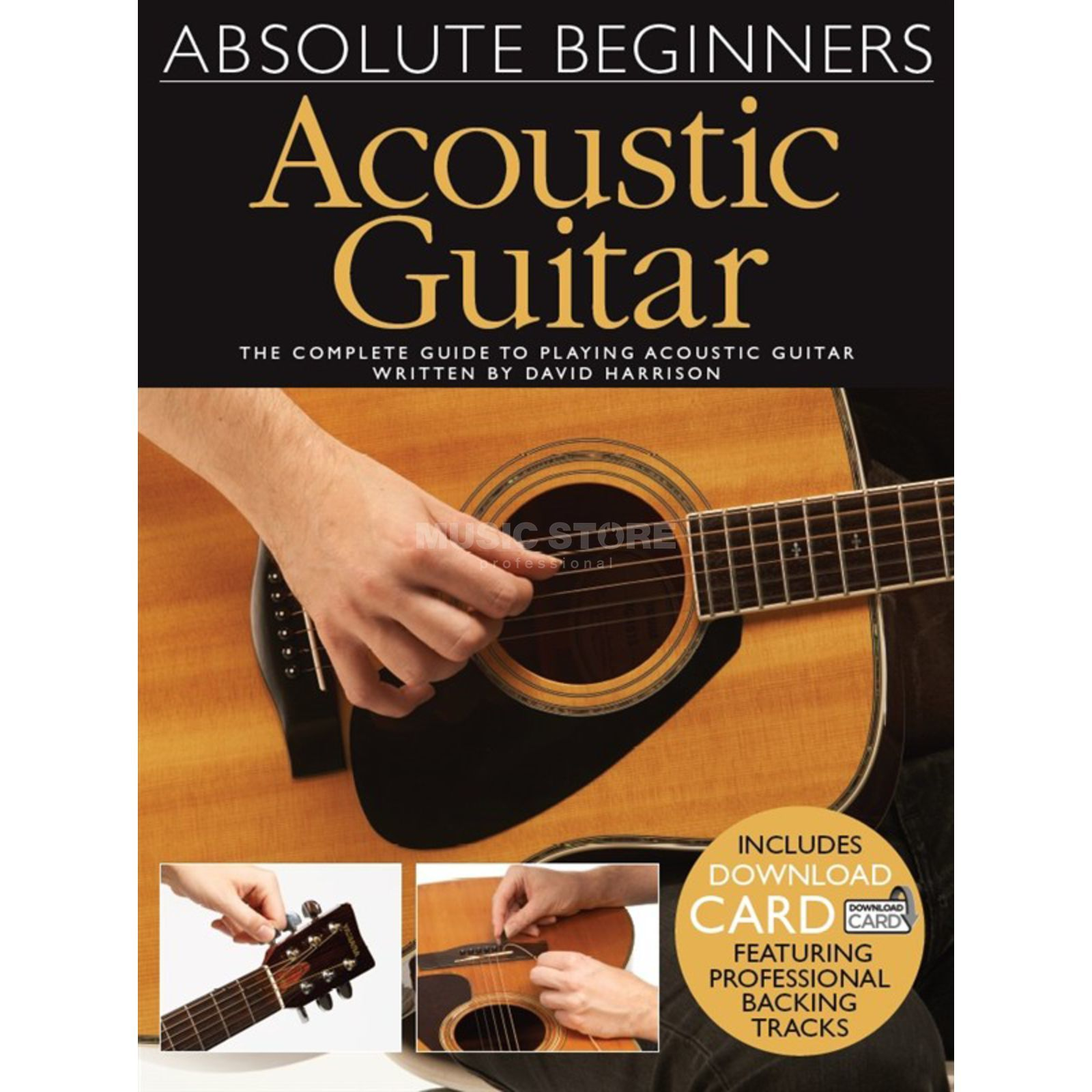 Wise Publications Absolute Beginners: Acoustic Guitar Produktbild