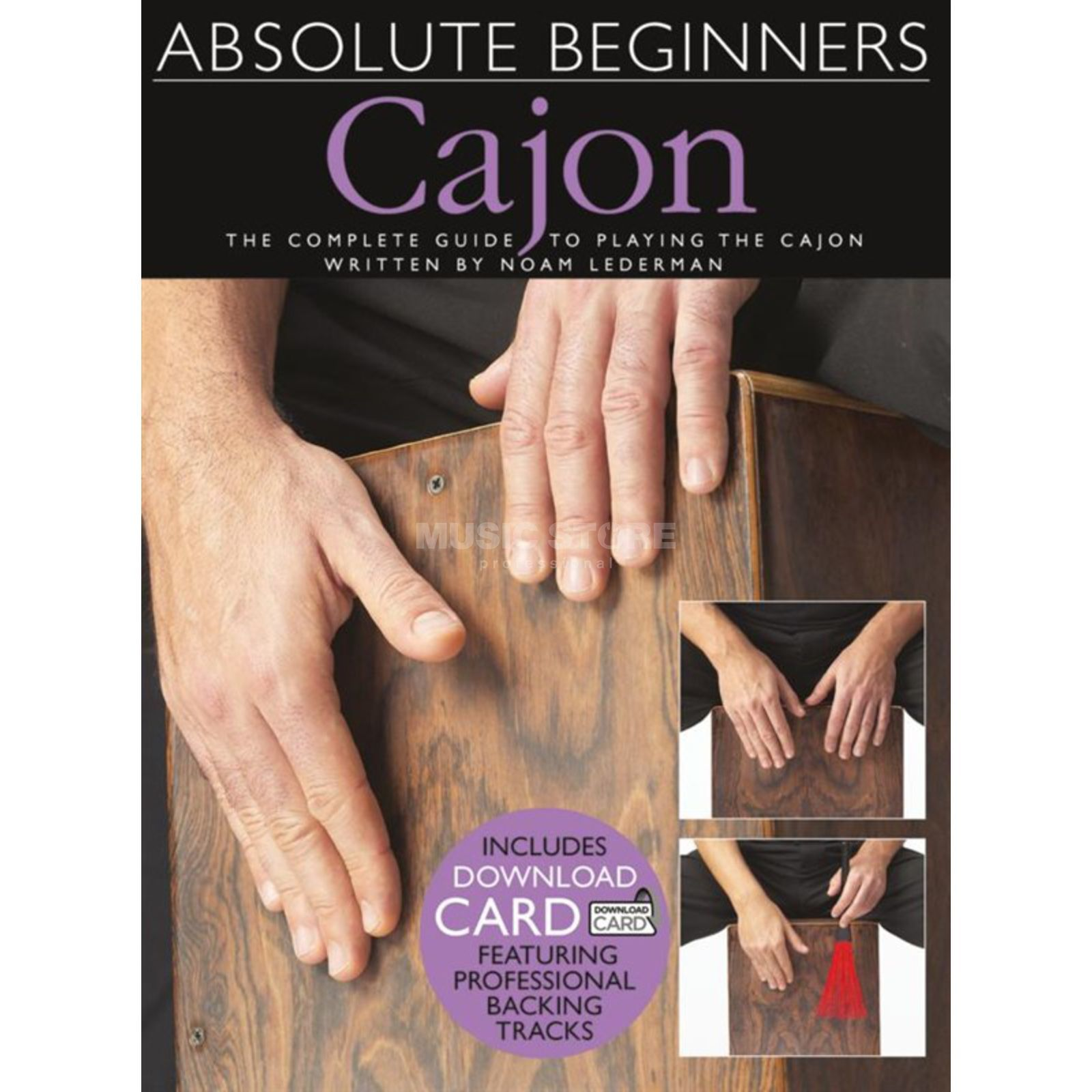 Wise Publications Absolute Beginners: Cajon Produktbillede