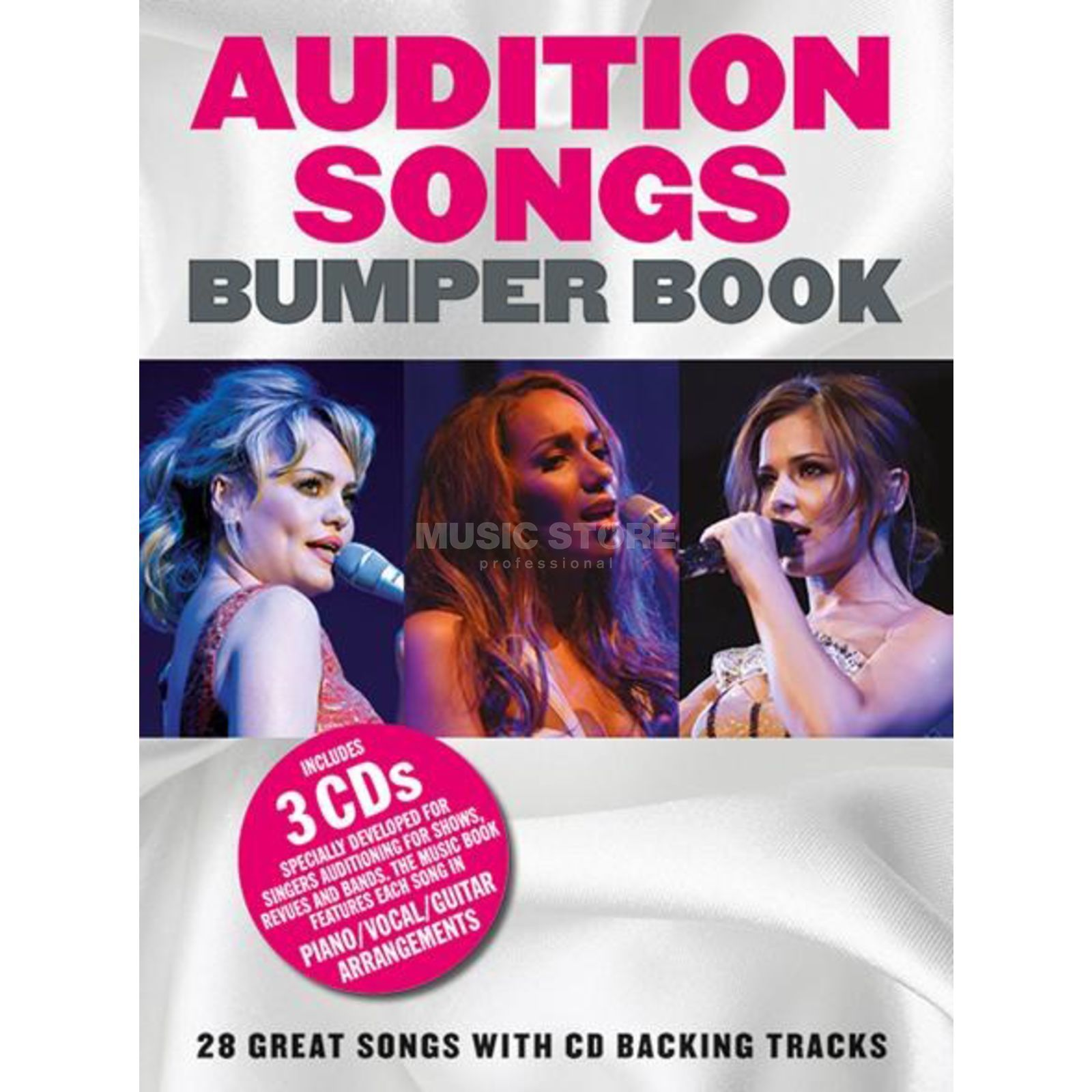 Wise Publications Audition Songs: Bumper Songbook PVG inkl. CD Produktbild