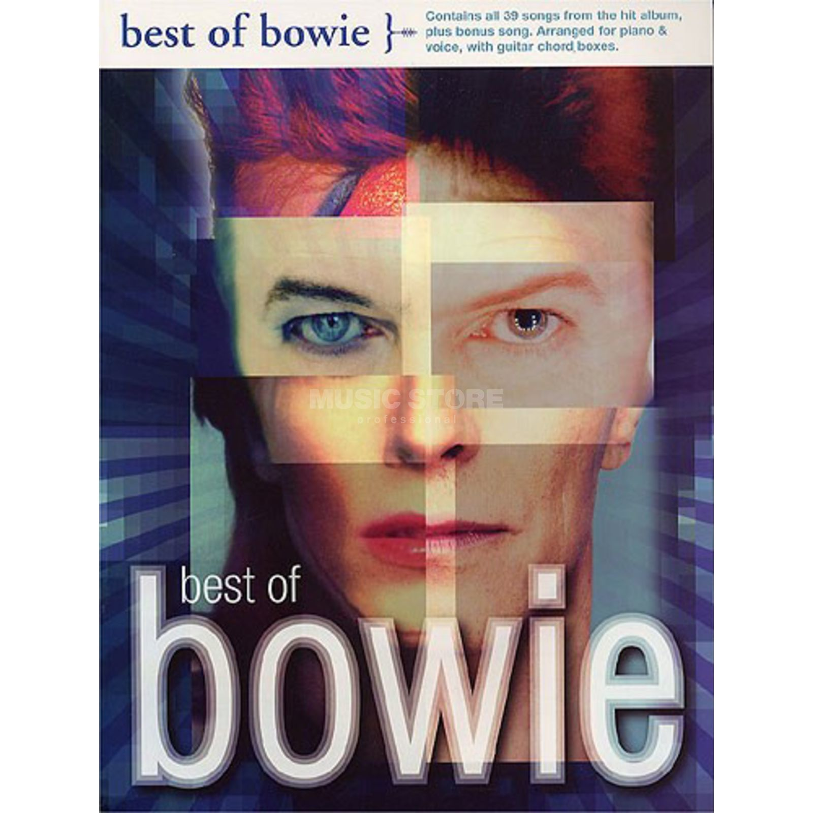 Wise Publications Best Of Bowie PVG Produktbild