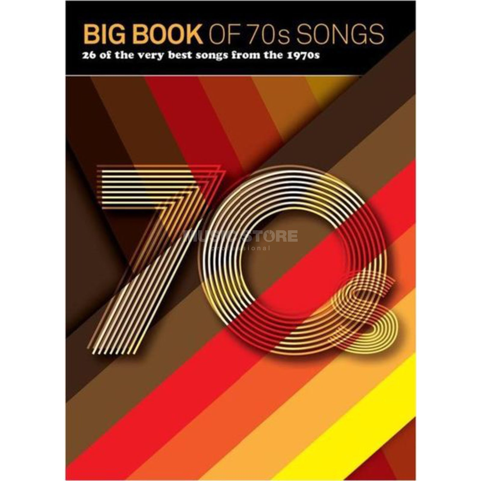 Wise Publications Big Book Of 70s Songs Produktbild