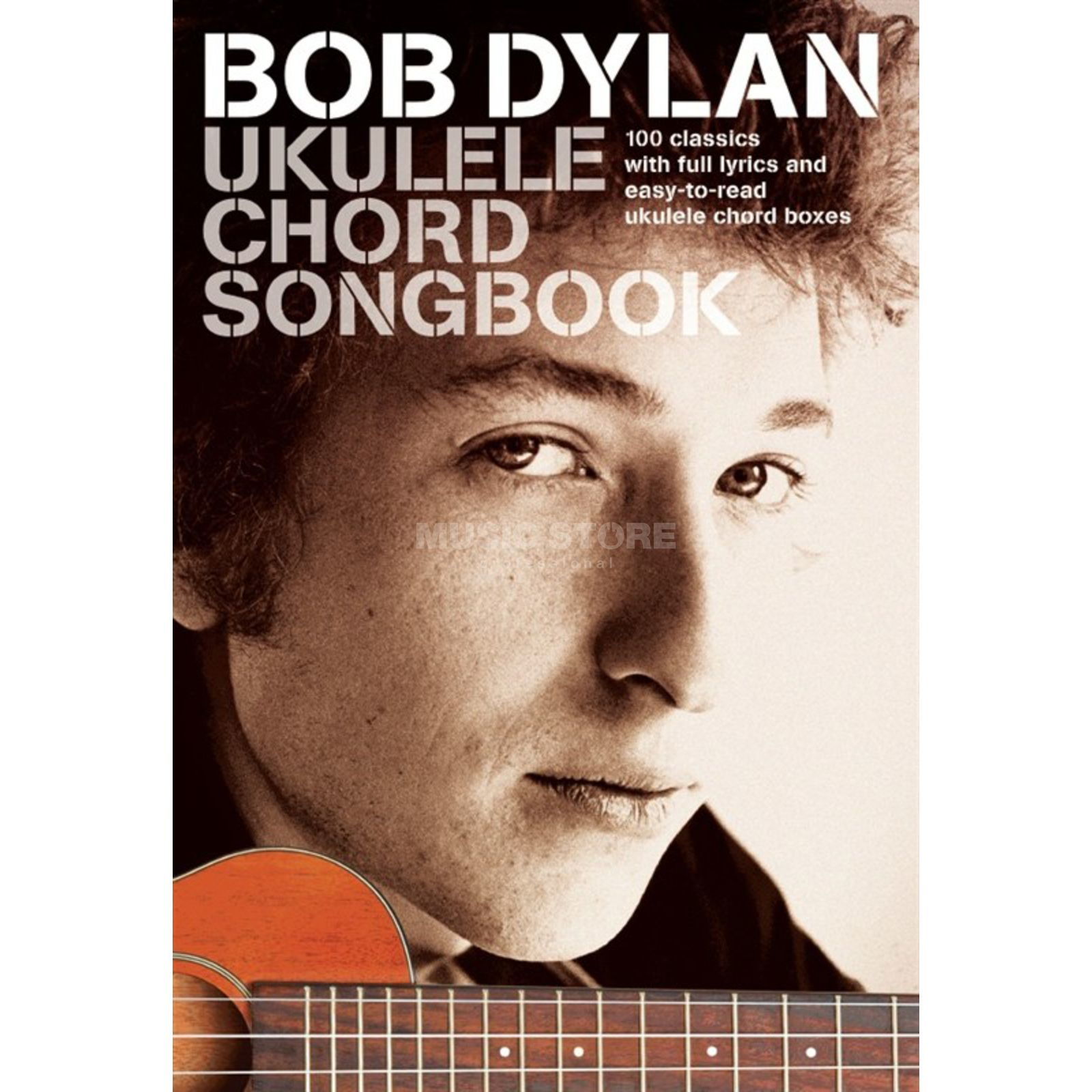 Wise Publications Bob Dylan Ukulele Chord Songbook Product Image