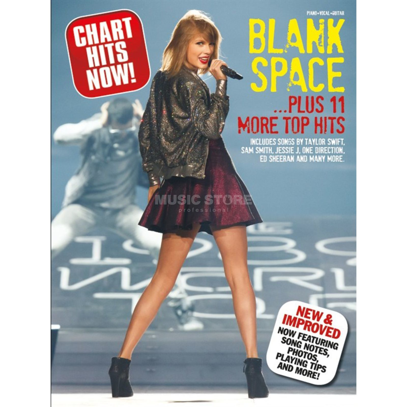 Wise Publications Chart Hits Now! Blank Space... Plus 11 More Top Hits Produktbild