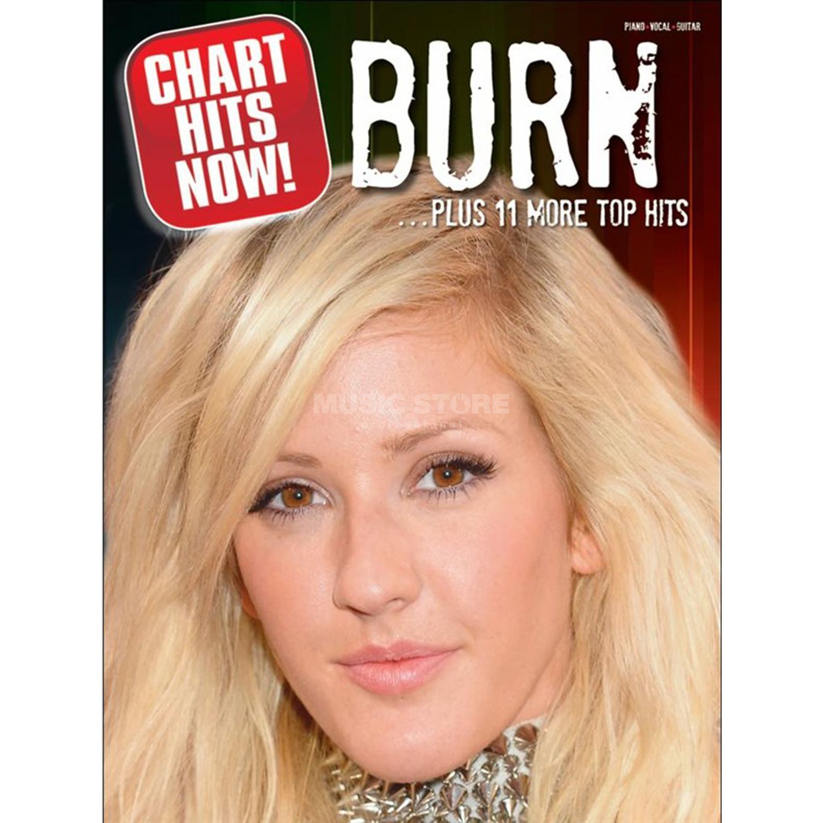 Wise Publications Chart Hits Now! Burn ...Plus 11 More Top Hits, PVG Produktbild