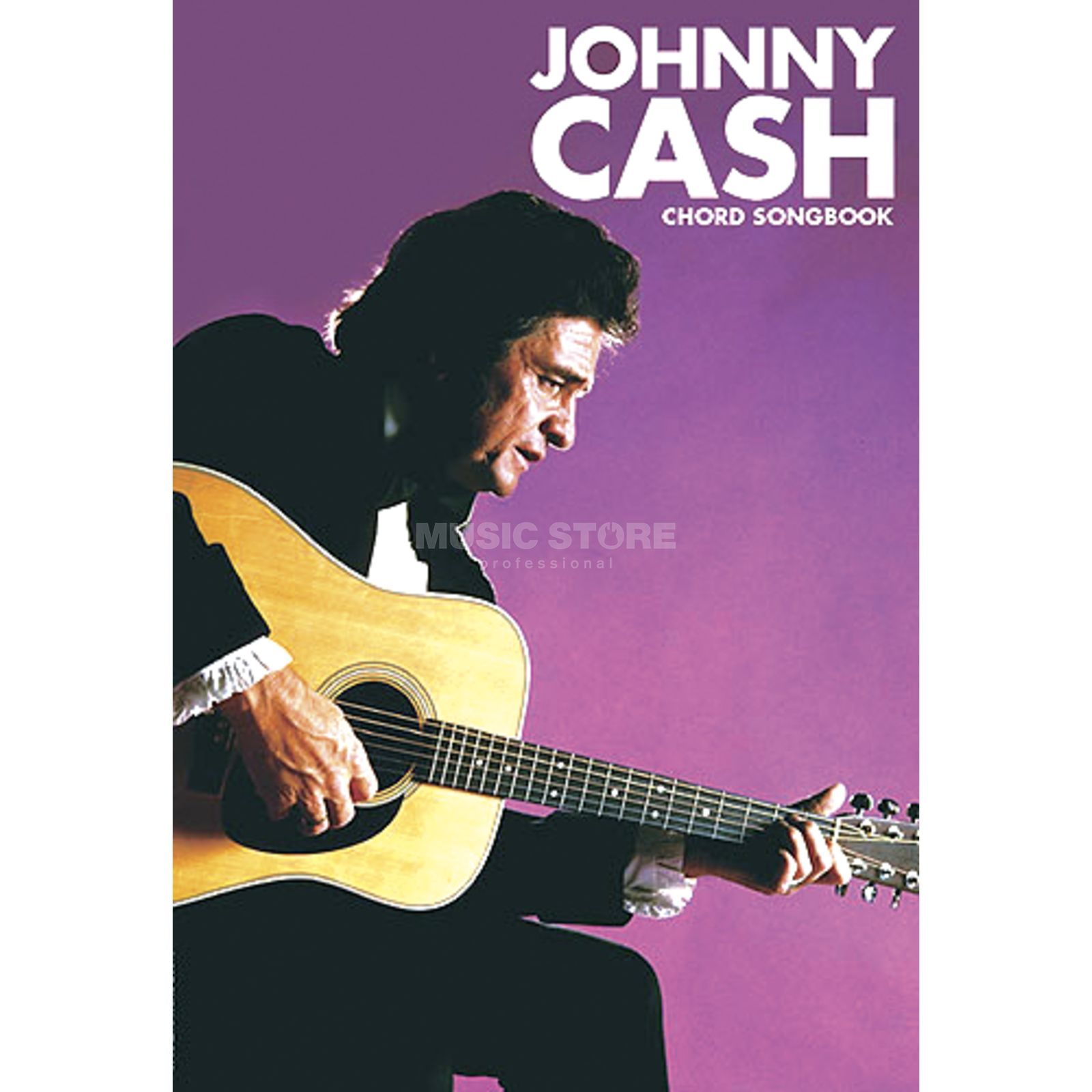 Wise Publications Chord Songbook - Johnny Cash Lyrics & Chords Produktbillede