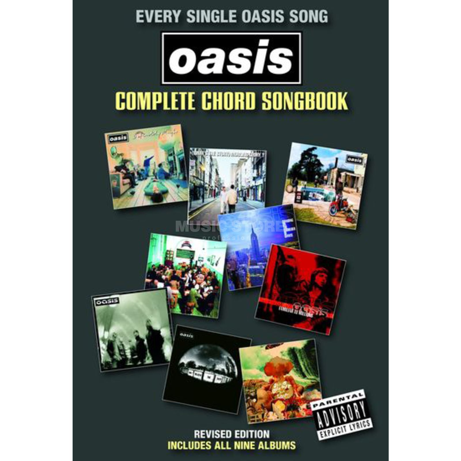 Wise Publications Chord Songbook - Oasis Lyrics & Chords Produktbillede