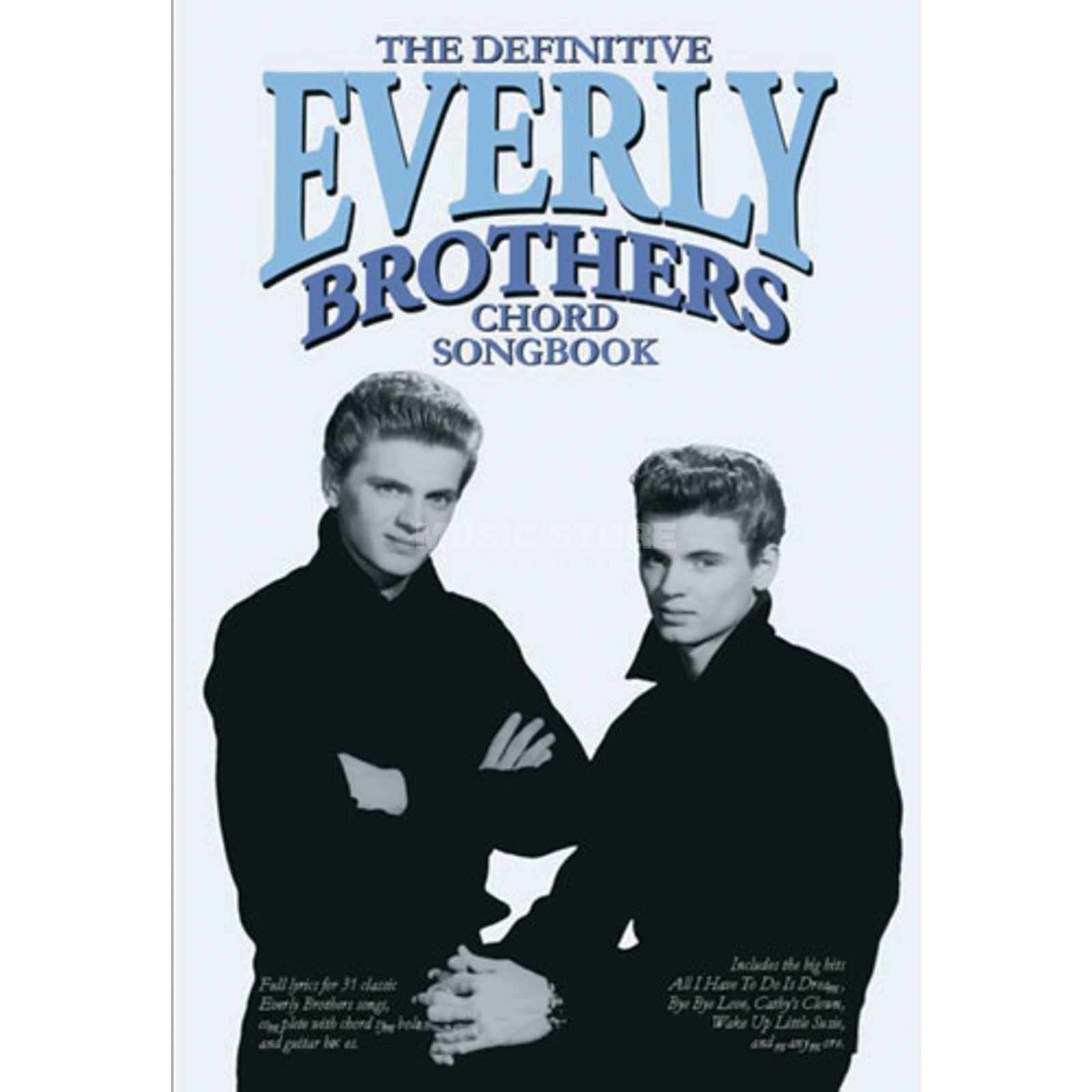 Wise Publications Chord Songbook: The Everly Broodhers Lyrics & Chords Productafbeelding
