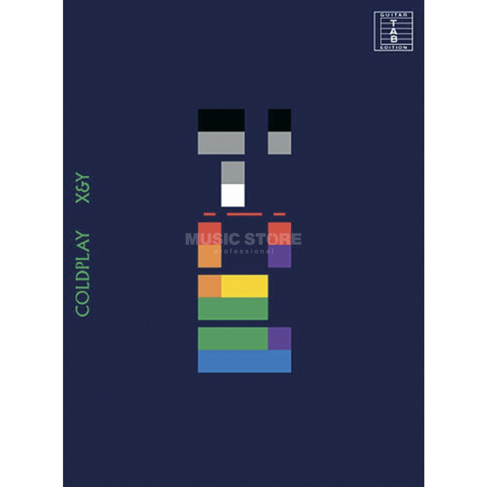 Wise Publications Coldplay: X & Y Product Image