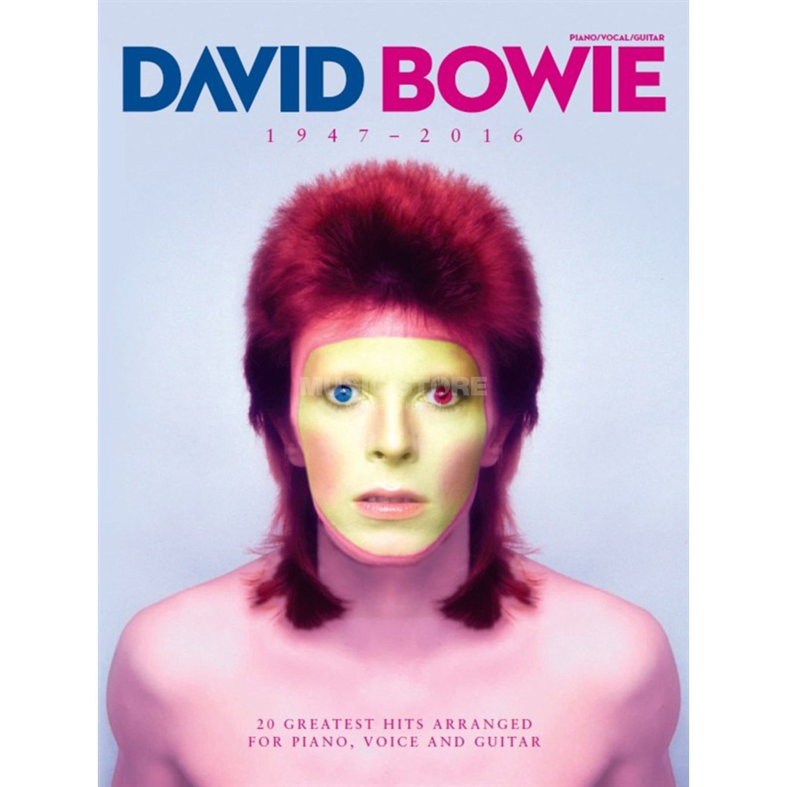 Wise Publications David Bowie 1947 - 2016 Produktbillede