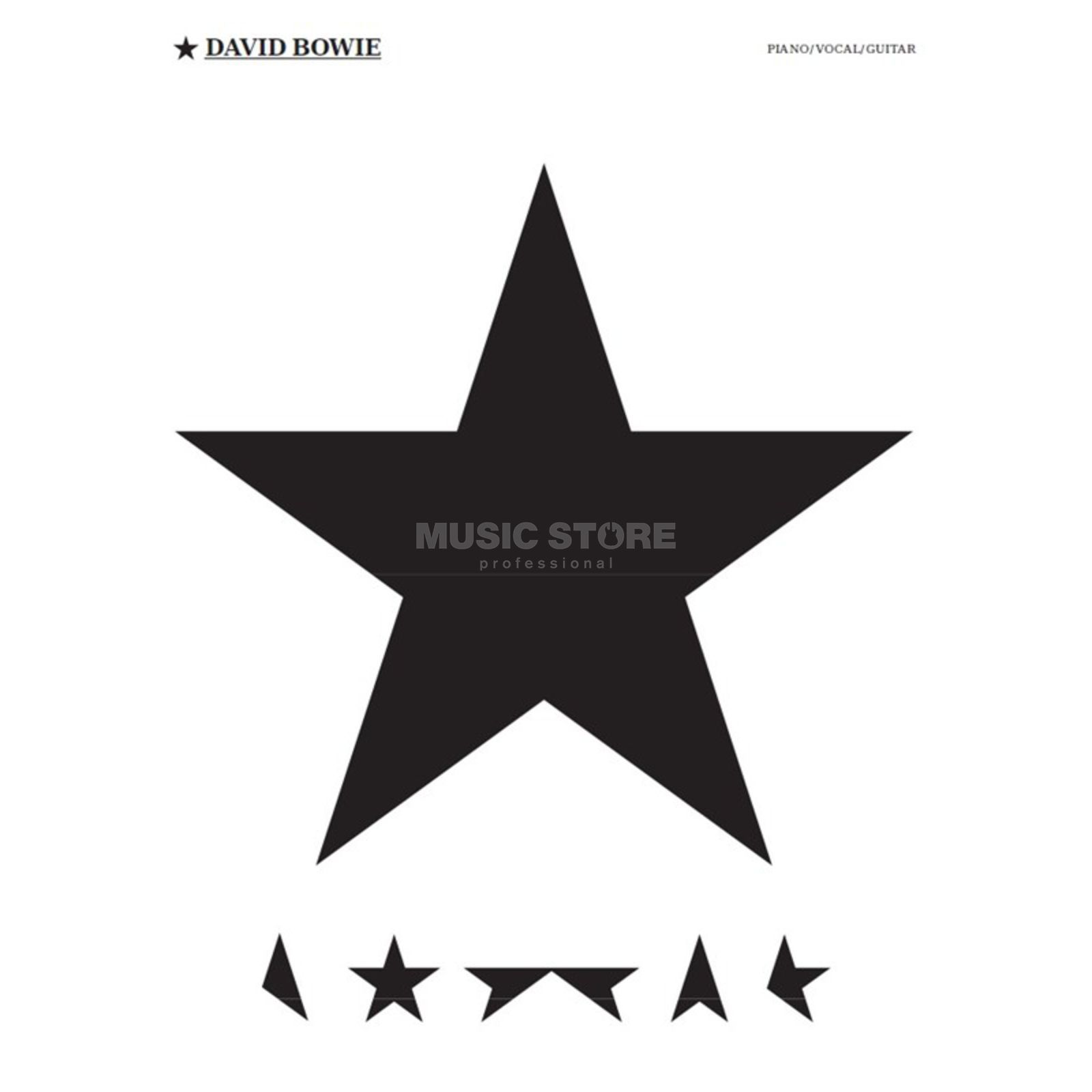 Wise Publications David Bowie: Blackstar Product Image