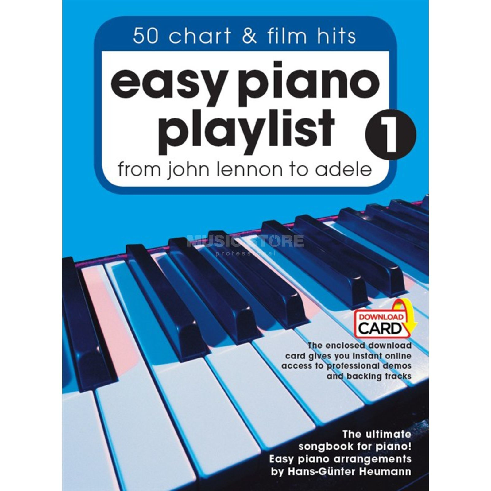 Wise Publications Easy Piano Playlist: Volume 1 Produktbillede