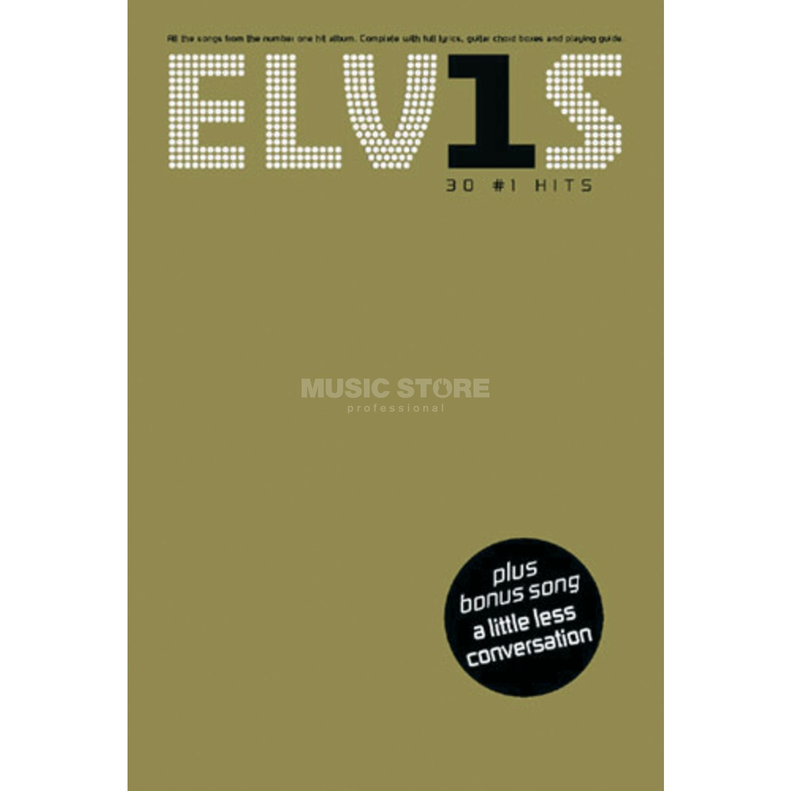Wise Publications Elvis Presley: 30 No. 1 Hits PVG Produktbillede