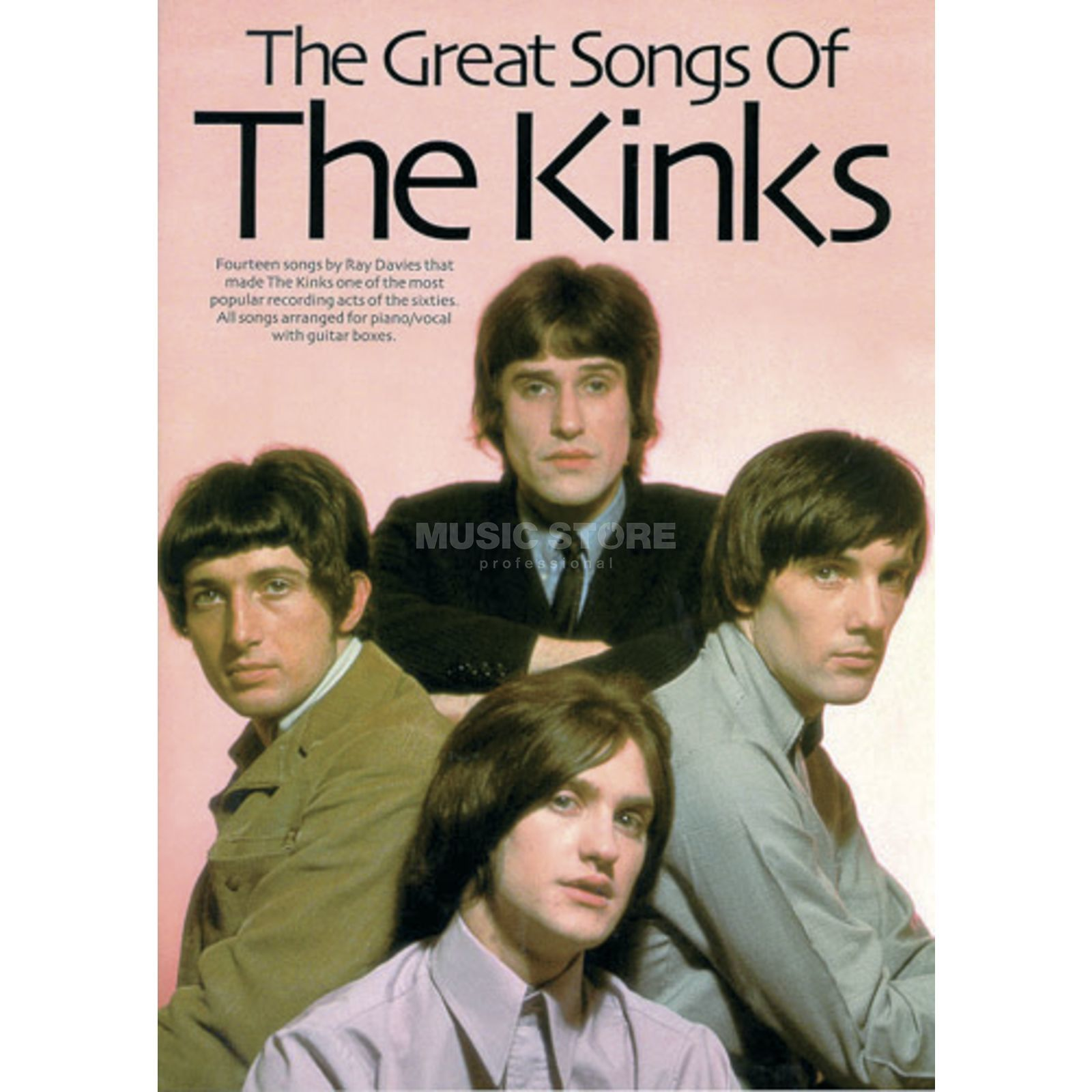 Wise Publications Great Songs Of The Kinks Produktbild