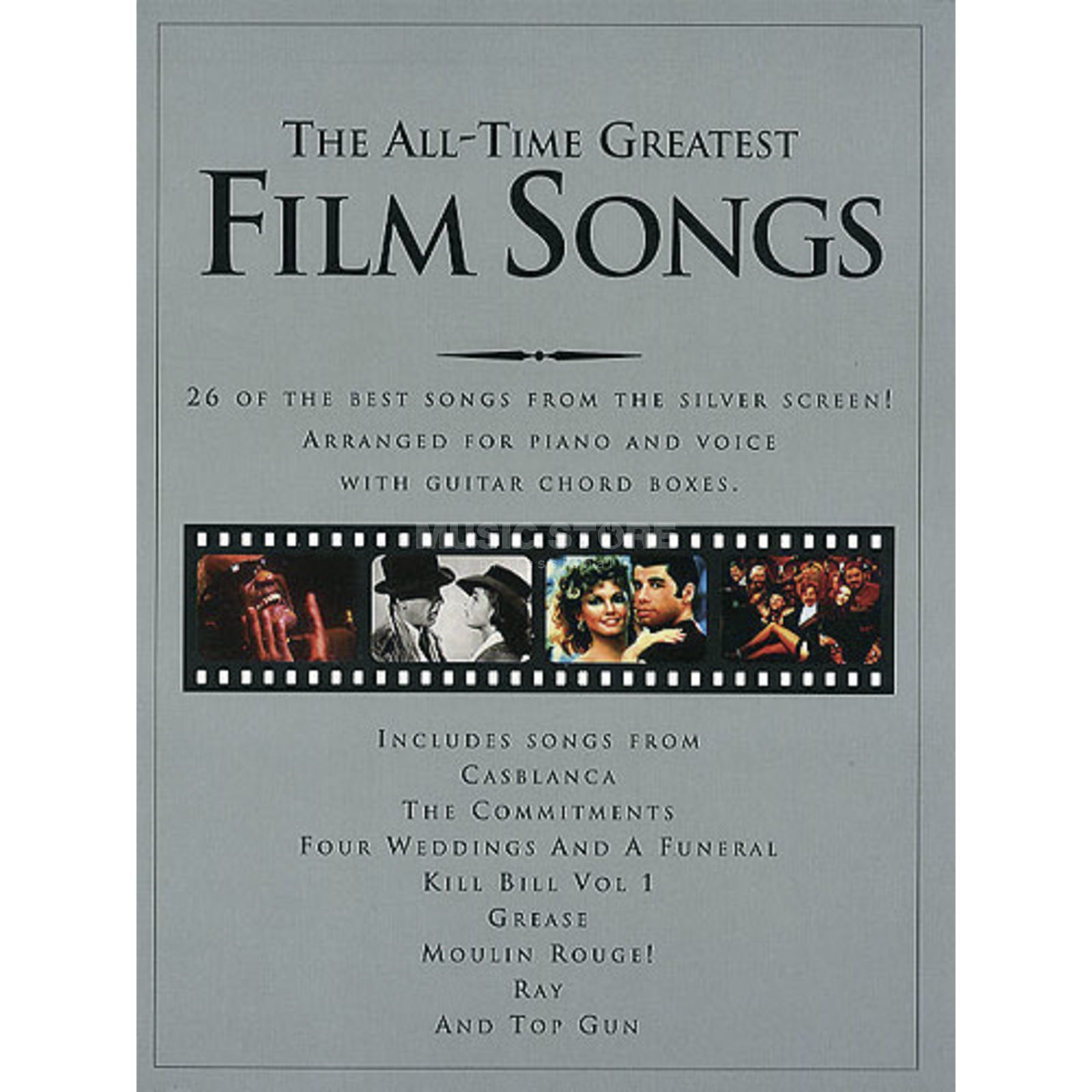 Wise Publications Greatest Film Songs PVG Produktbild