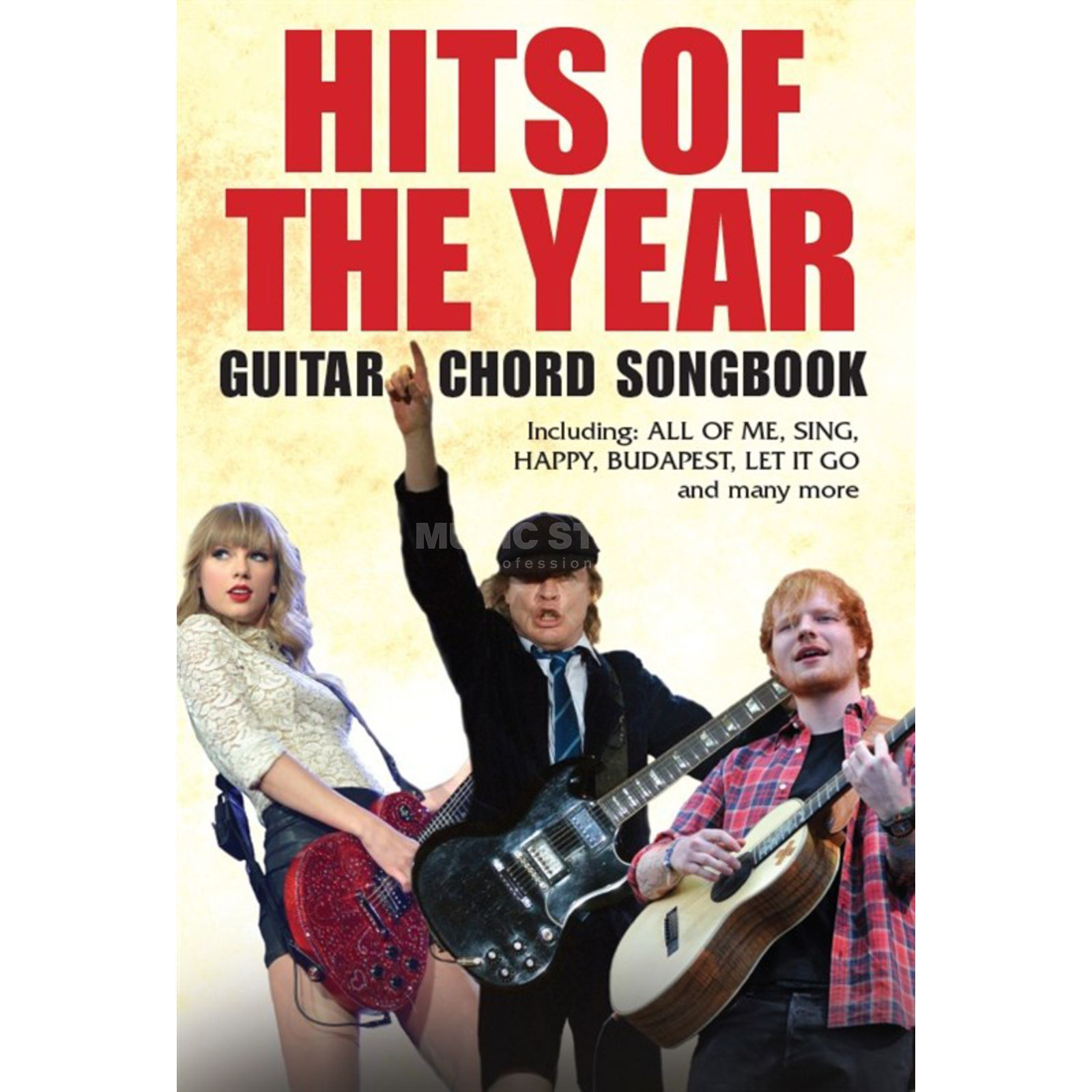 Wise Publications Hits Of The Year Guitar Chord Songbook Produktbild