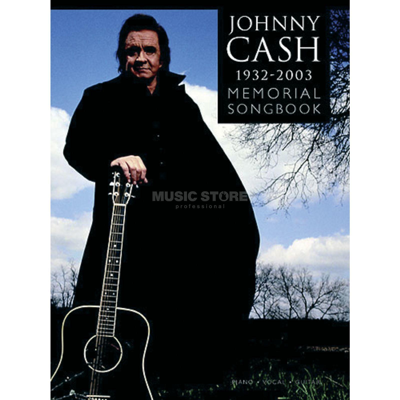 Wise Publications Johnny Cash 1932-2003: Memorial Songbook Produktbild