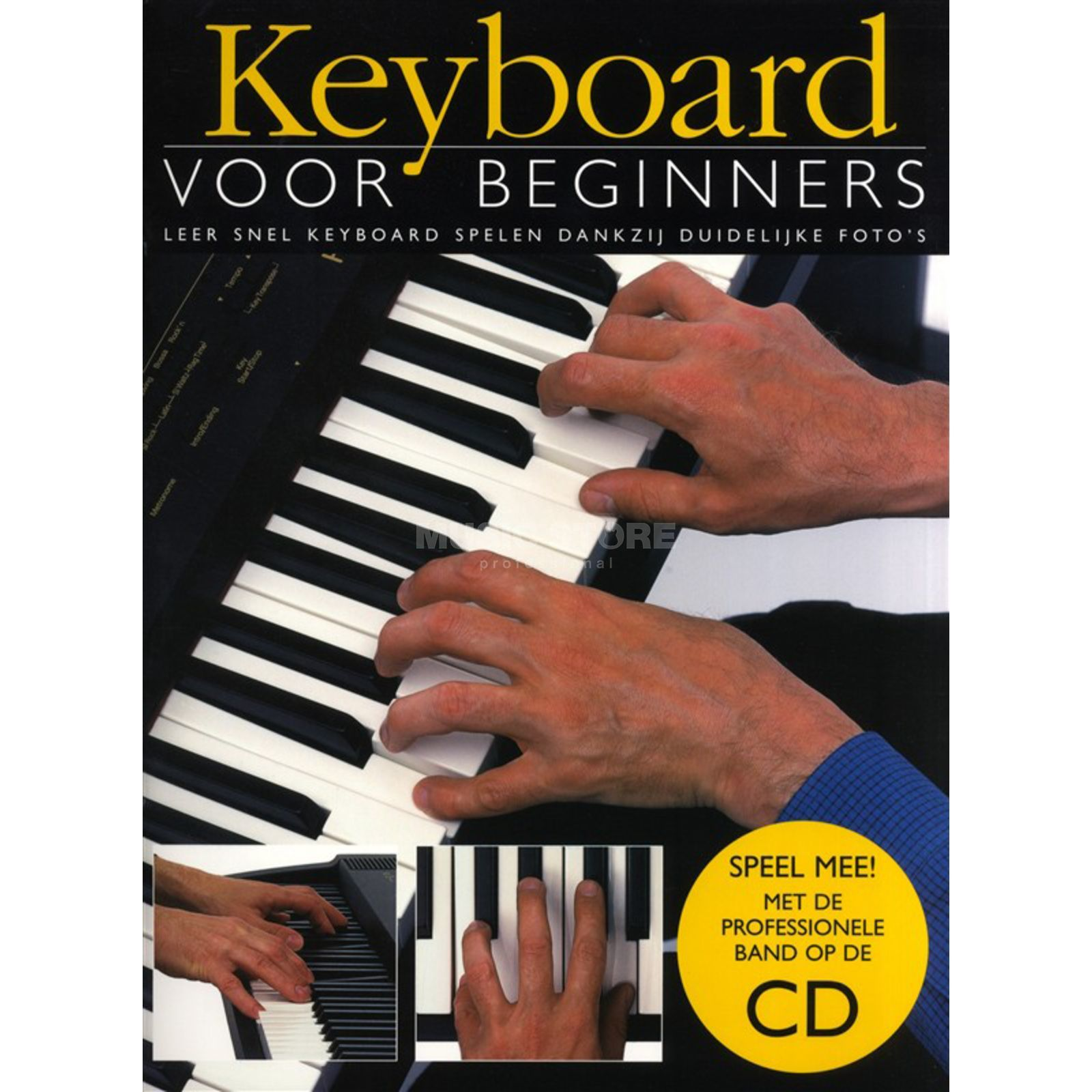 Wise Publications Keyboard Voor Beginners Boek/CD Produktbillede