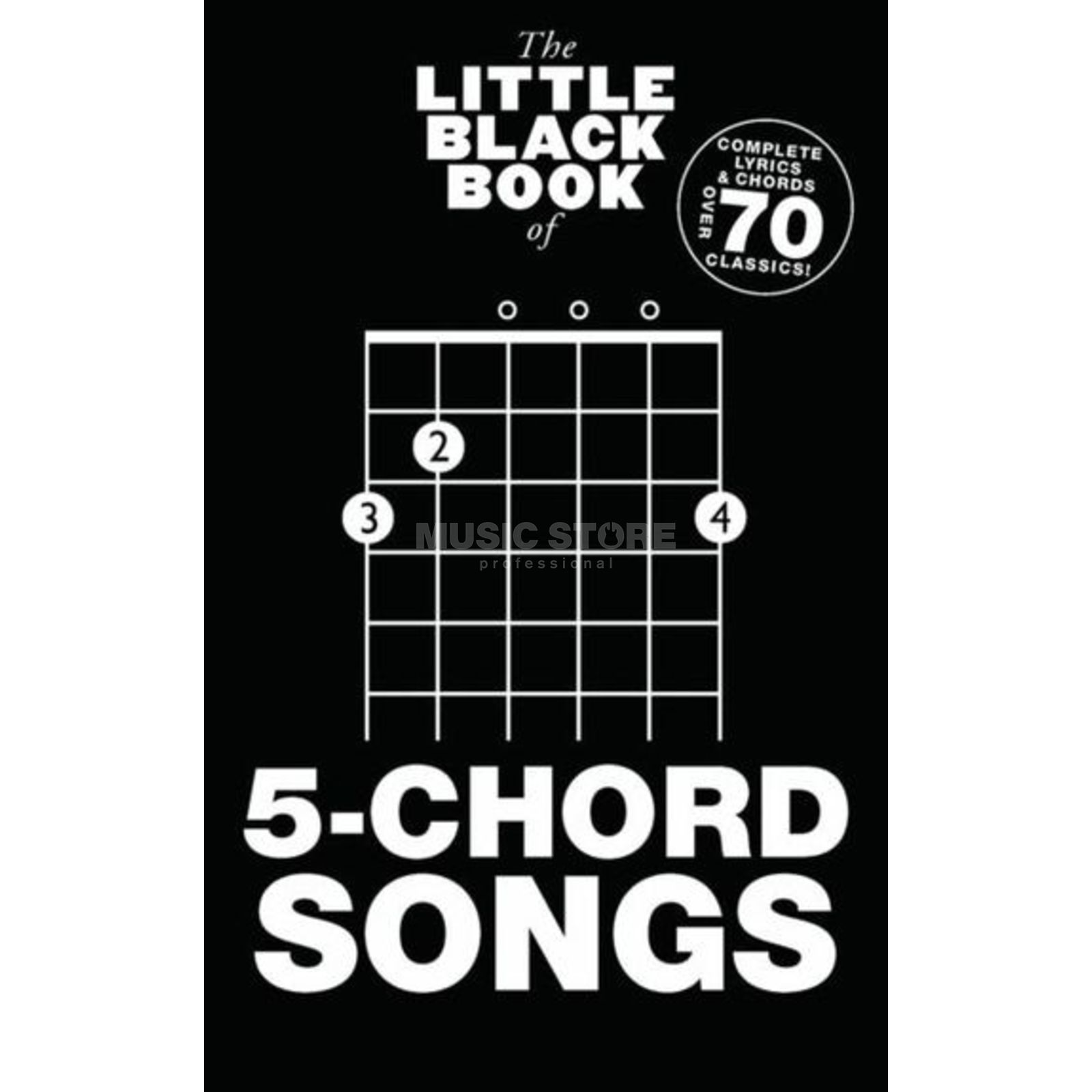 Wise Publications Little Black Book 5-Chord Song Lyrics, Chords Produktbild