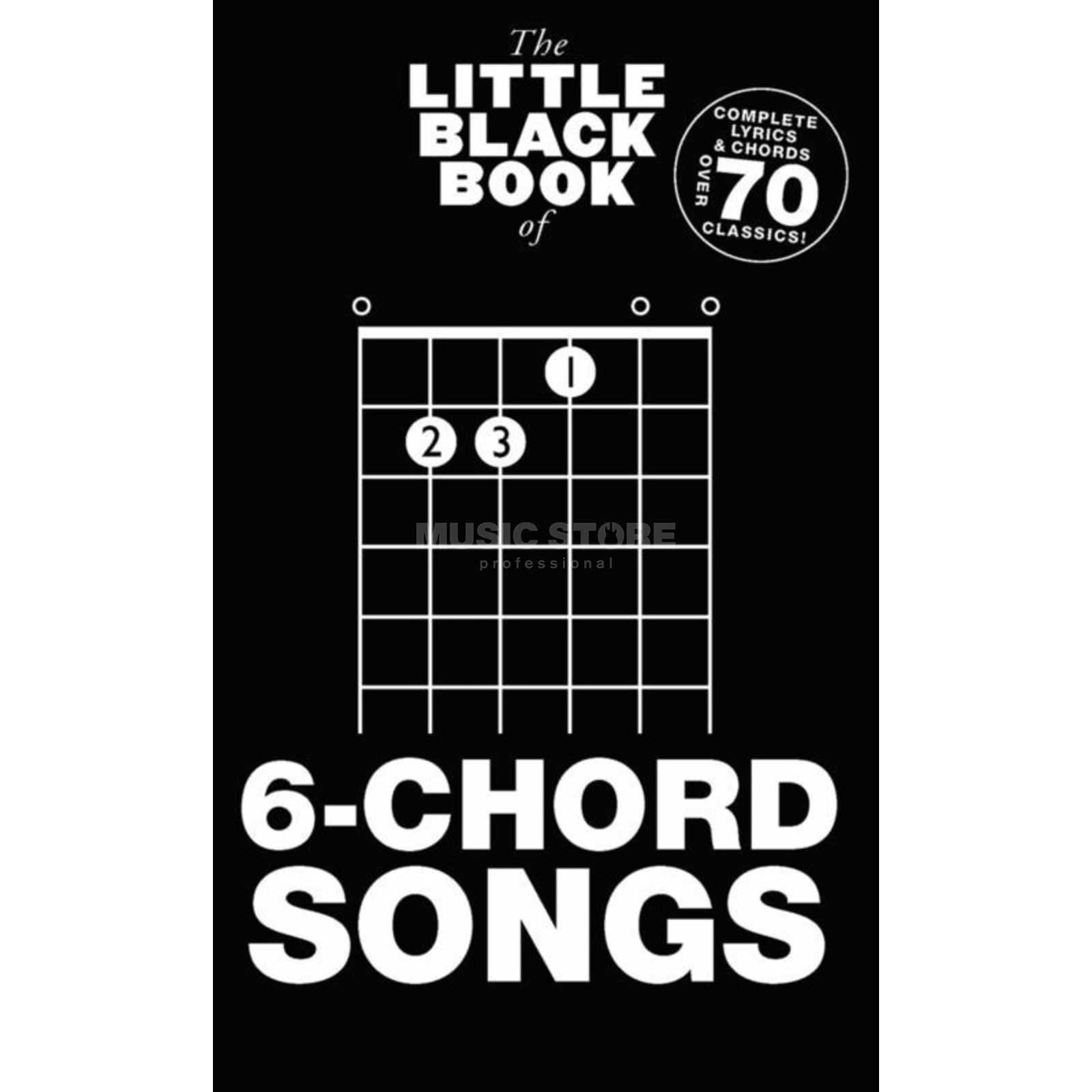 Wise Publications Little Black Book 6-Chord Song Lyrics, Chords Produktbild