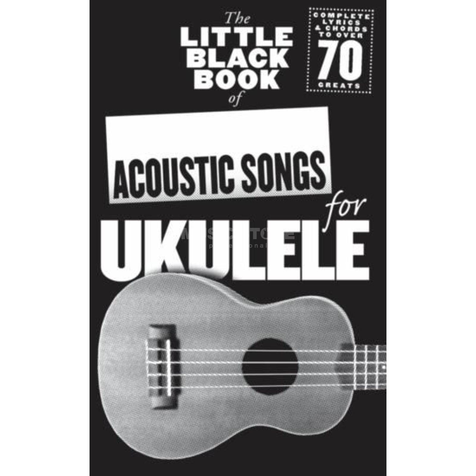 Wise Publications Little Black Book Acoustic Songs Ukulele Produktbillede