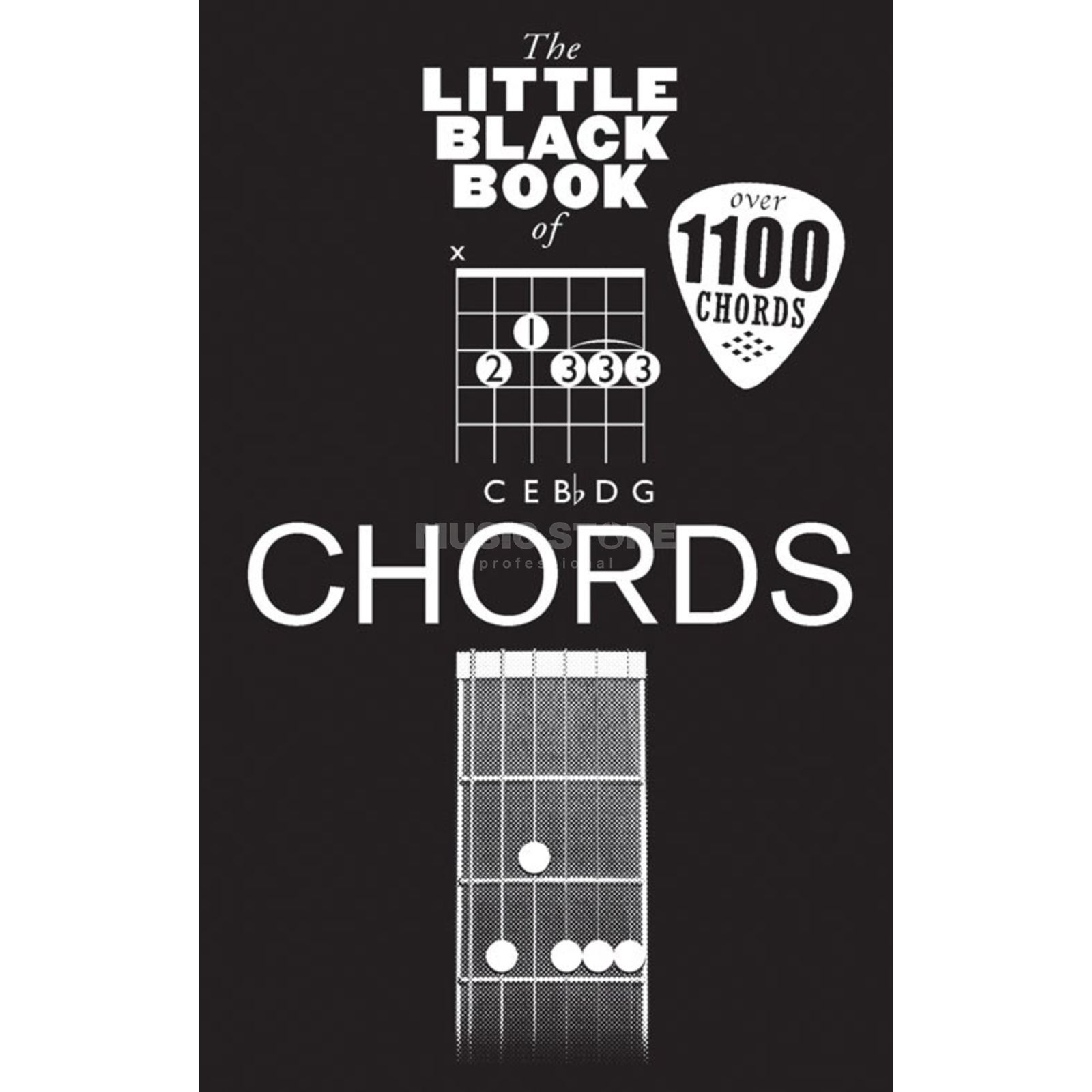 Wise Publications Little Black Book Chords Chords Produktbillede