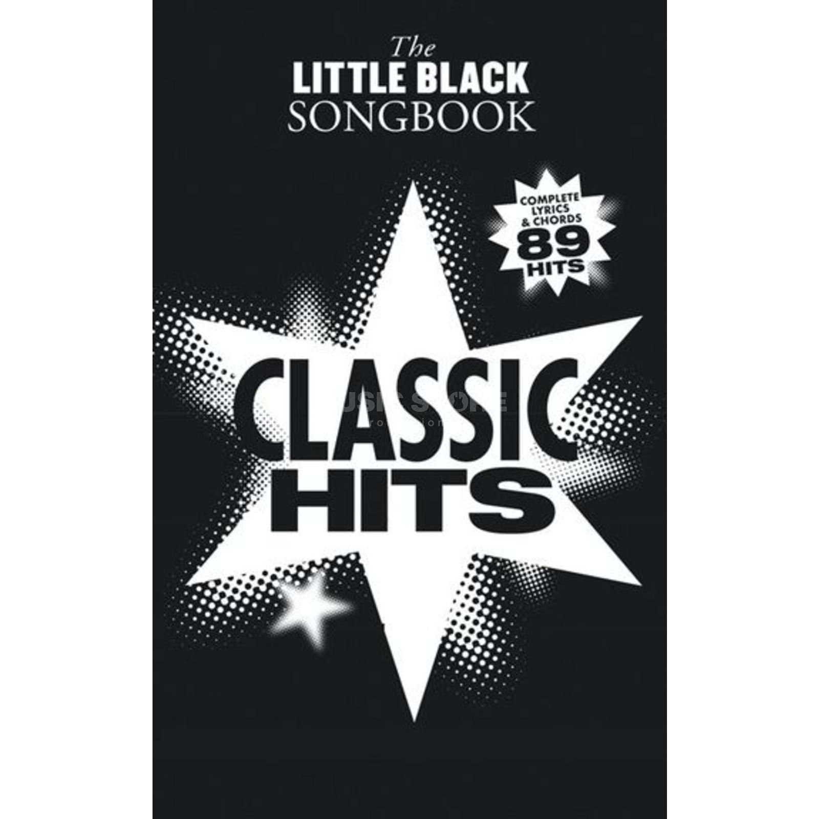 Wise Publications Little Black Book Classic Hits Lyrics, Chords Produktbillede
