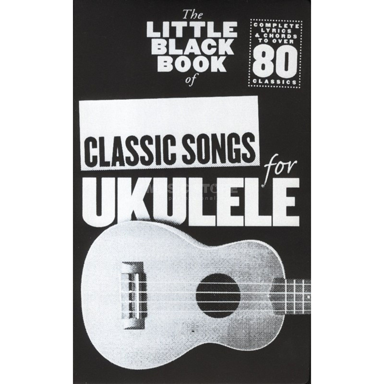 Wise Publications Little Black Book Classic Song Ukulele Produktbillede