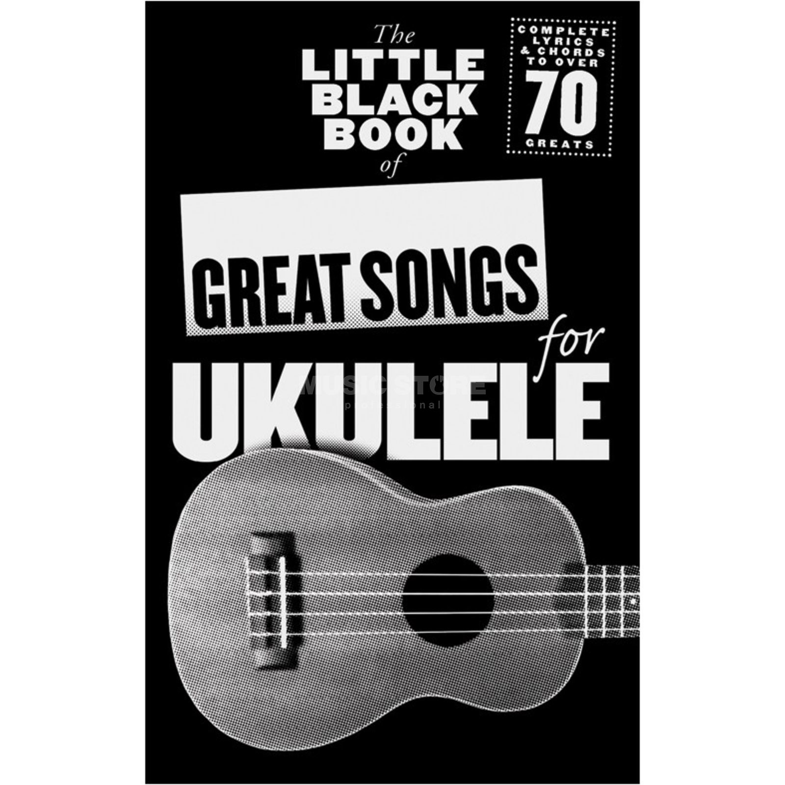 Wise Publications Little Black Book Great Songs Ukulele Produktbillede
