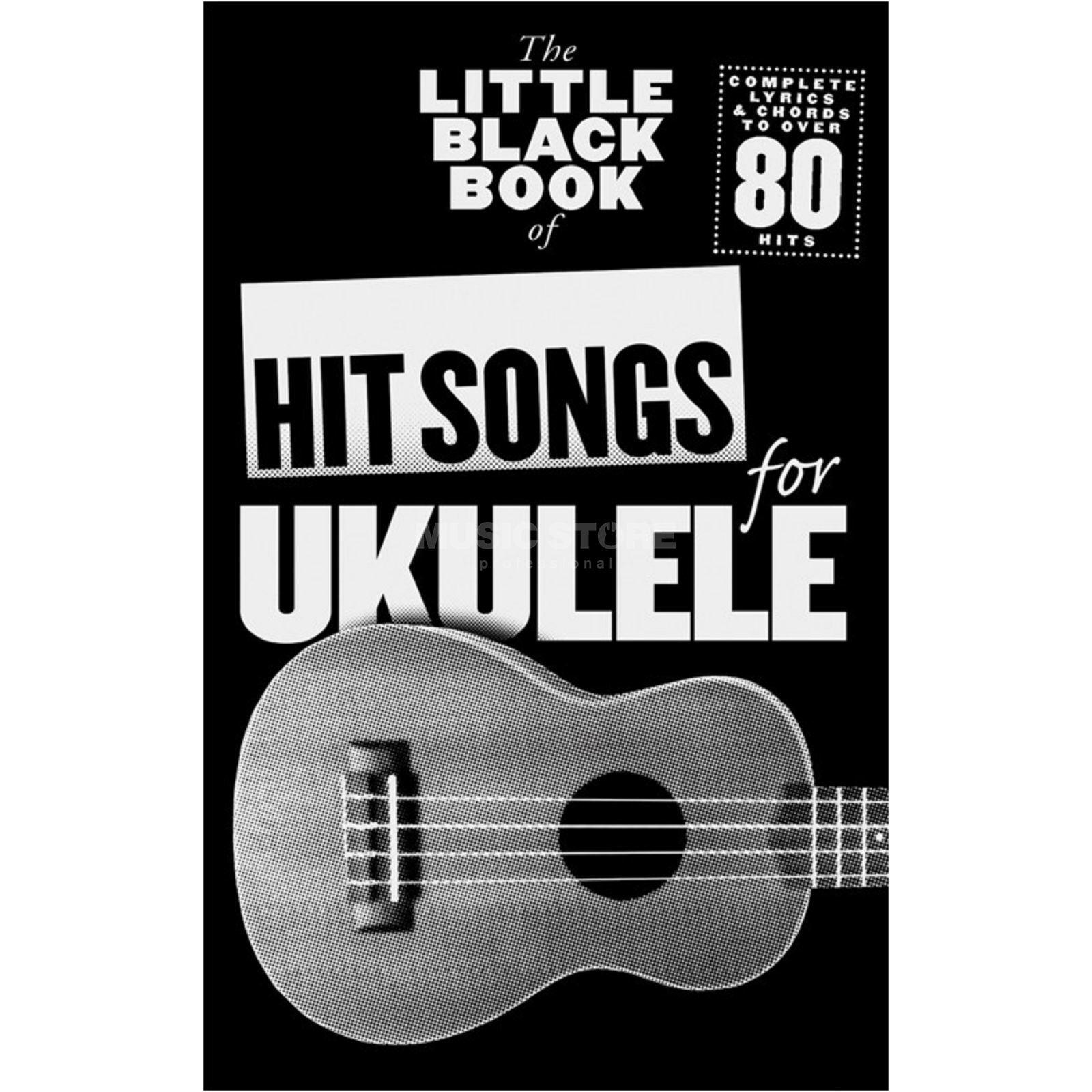 Wise Publications Little Black Book Hit Songs Ukulele Produktbillede
