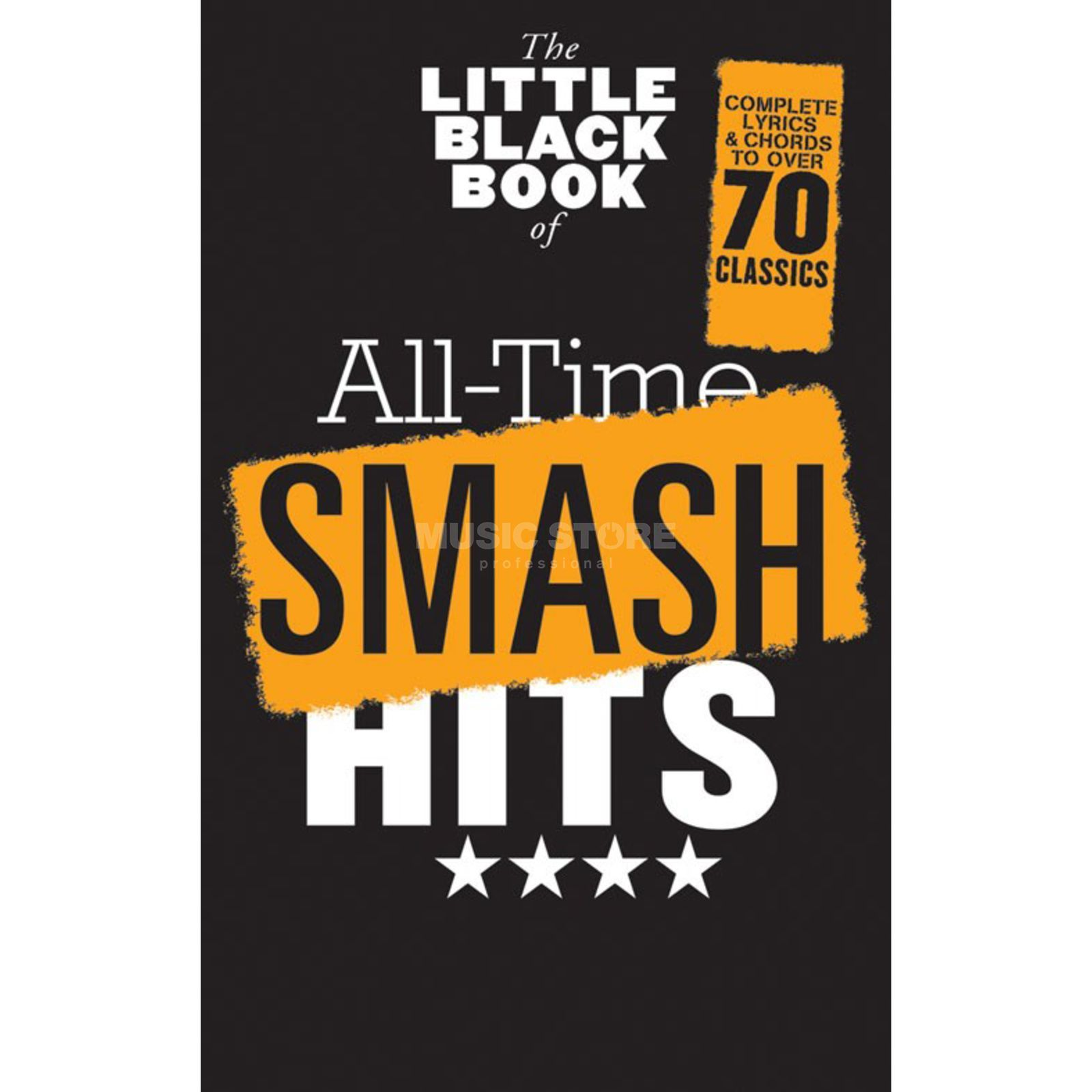 Wise Publications Little Black Book Smash Hits Lyrics, Chords Produktbild