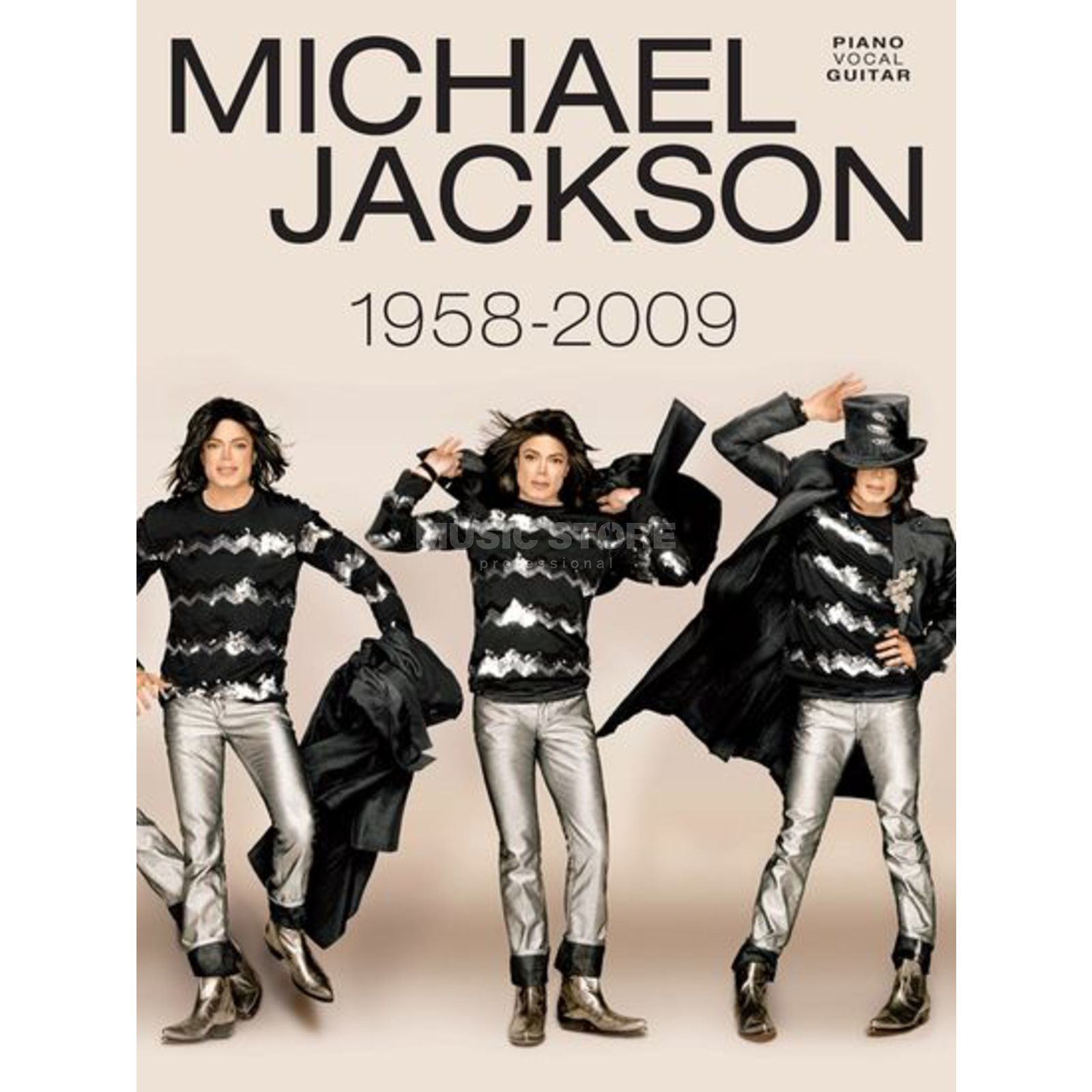 Wise Publications Michael Jackson - 1958 - 2009 PVG Produktbillede