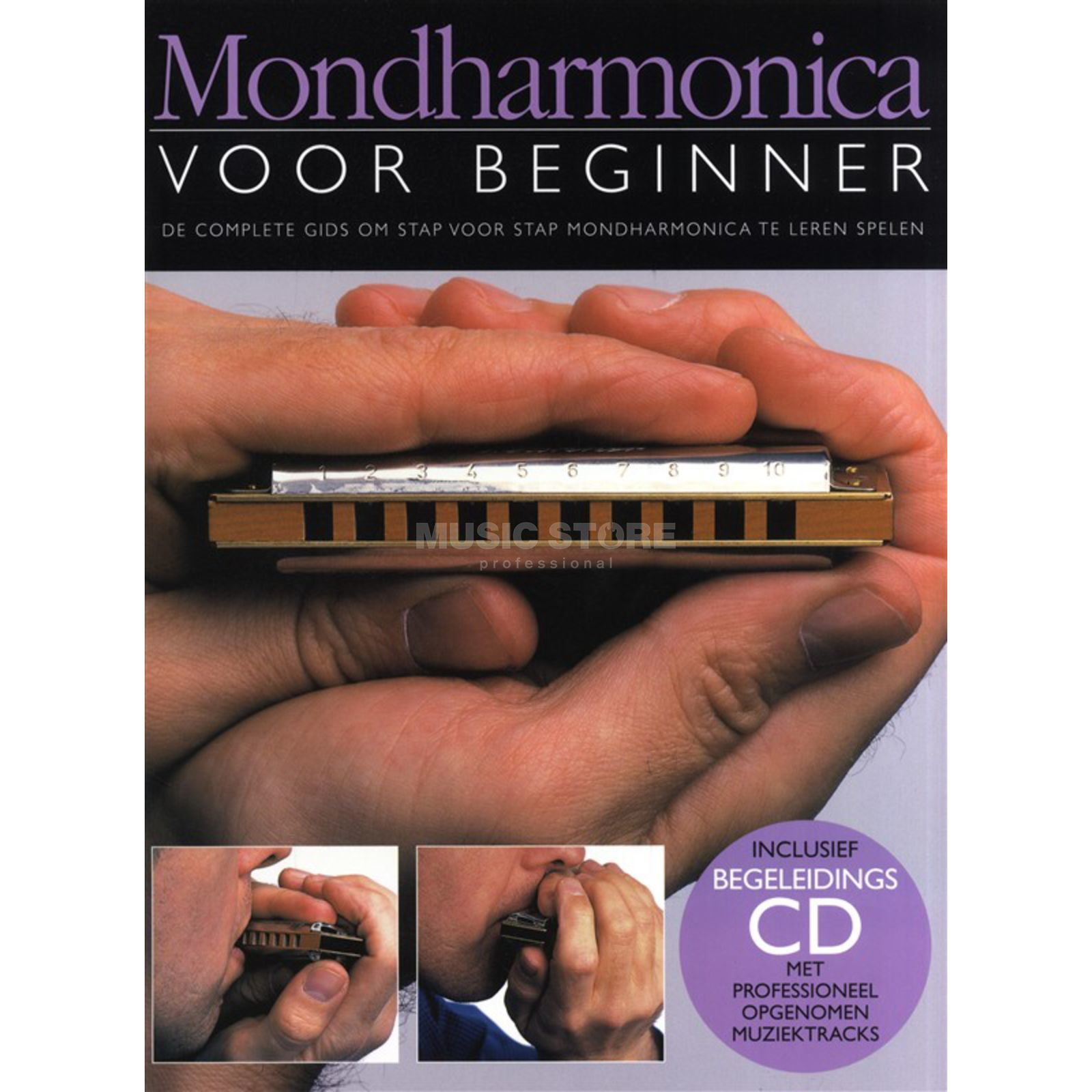 Wise Publications Mondharmonica Voor Beginner Boek/CD Produktbillede