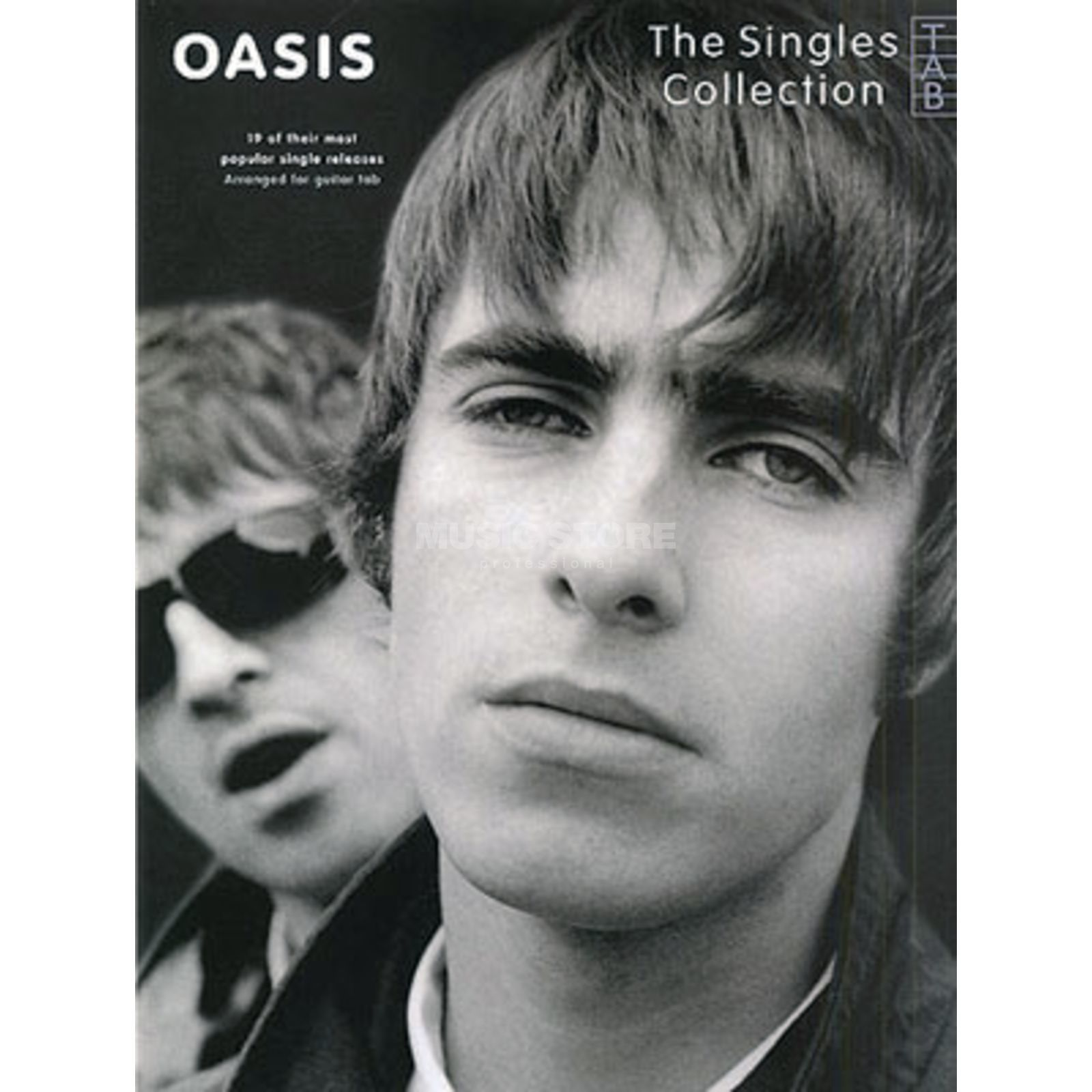 Wise Publications Oasis: Singles Collection TAB Produktbillede