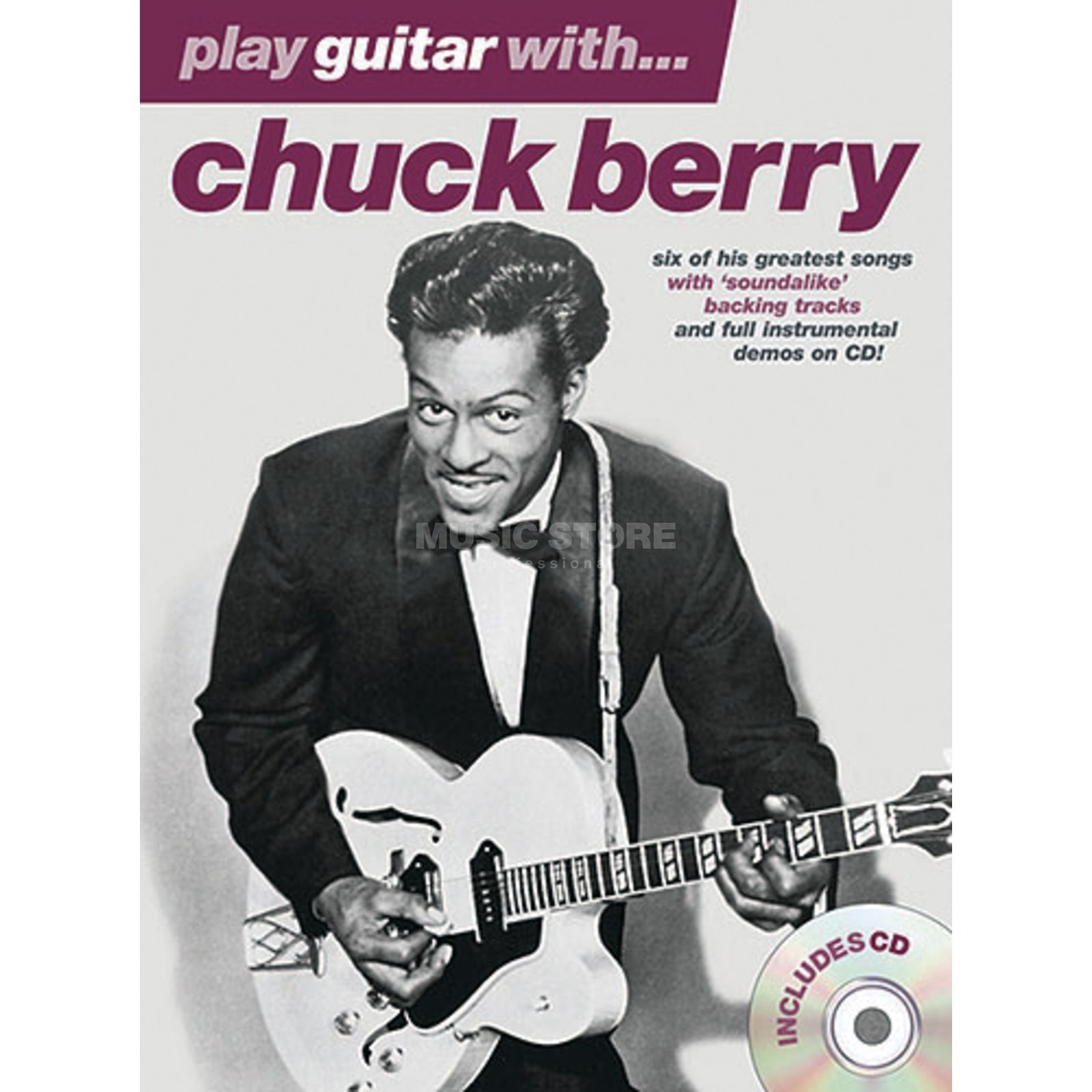 Wise Publications PGW Chuck Berry TAB and Playalong CD Produktbillede