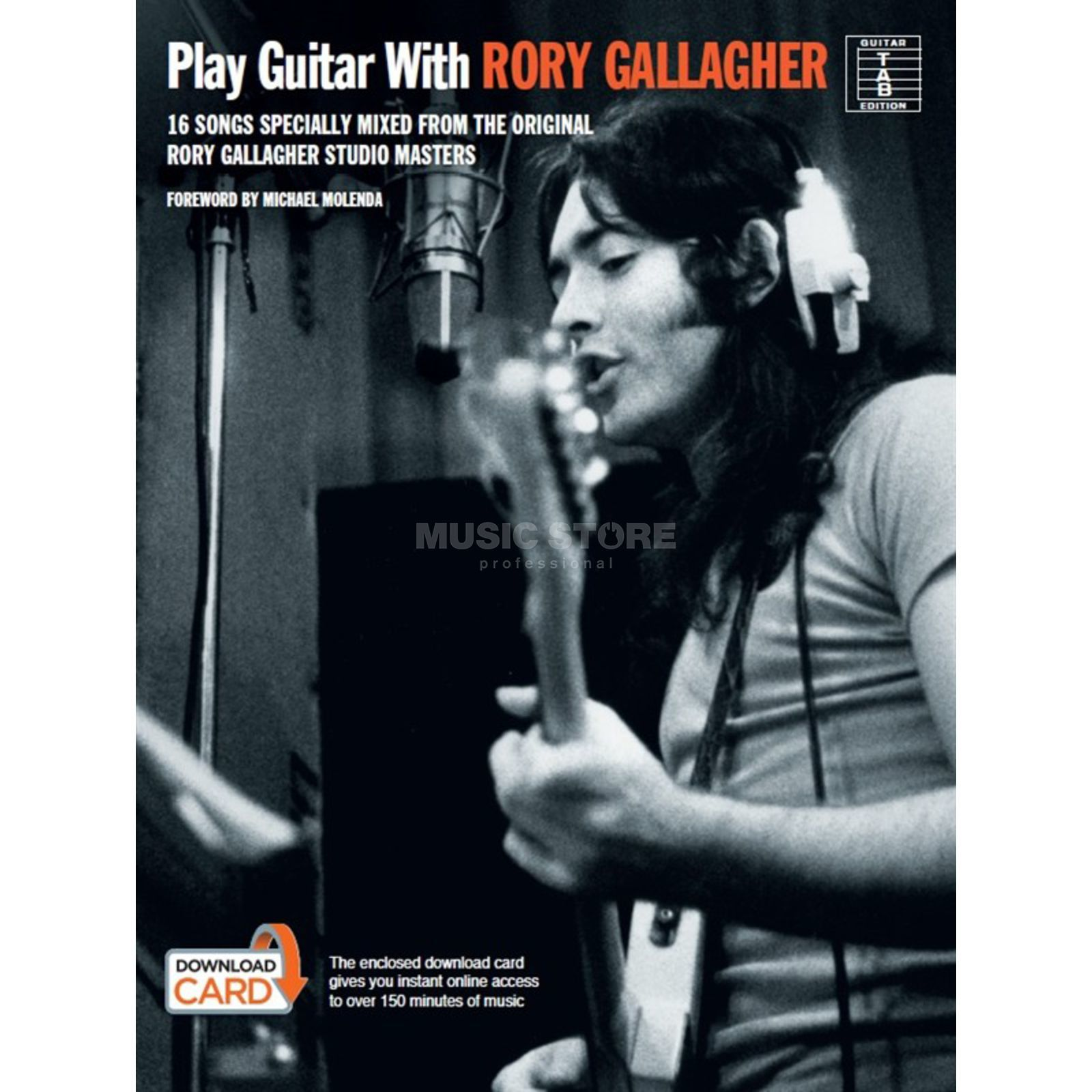 Wise Publications Play guitar with: R. Gallagher TAB/Download Card Produktbild