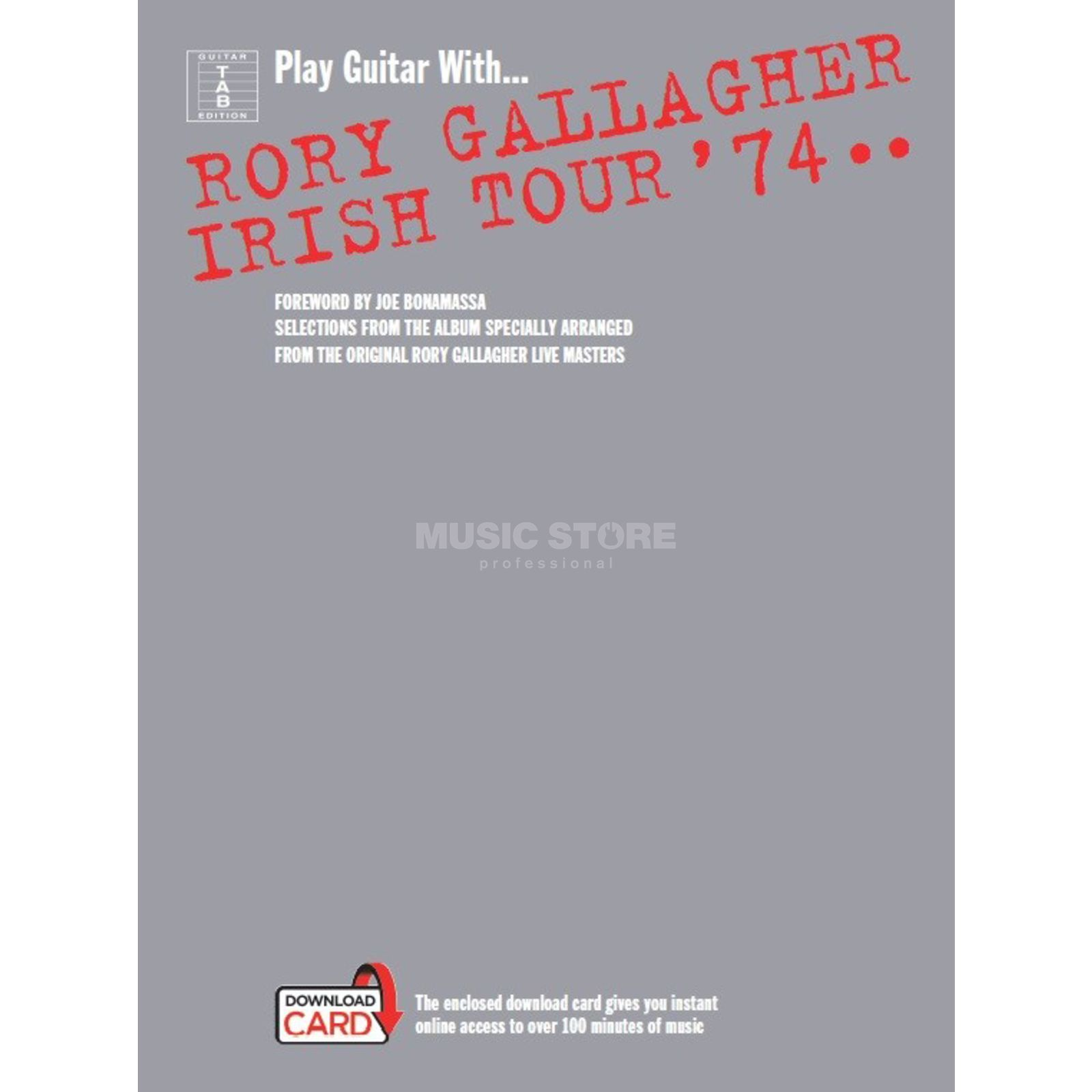 Wise Publications Play Guitar With... Rory Gallagher - Irish Tour '74 Produktbild