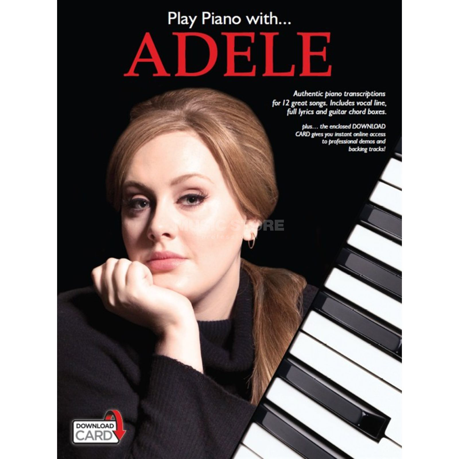 Wise Publications Play Piano With... Adele Product Image