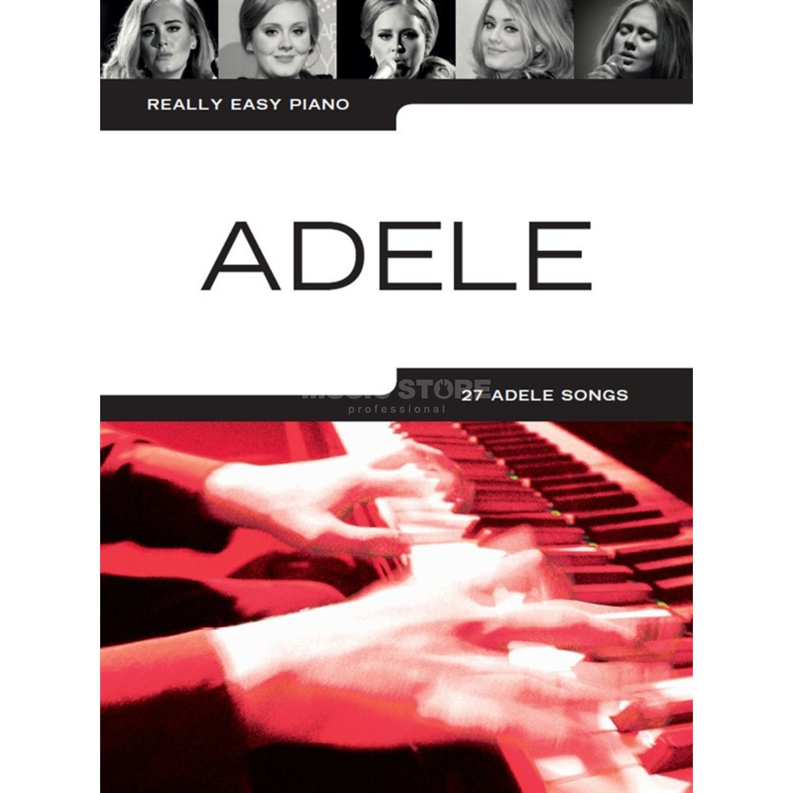 Wise Publications Really Easy Piano: Adele (Updated Edition) Imagem do produto