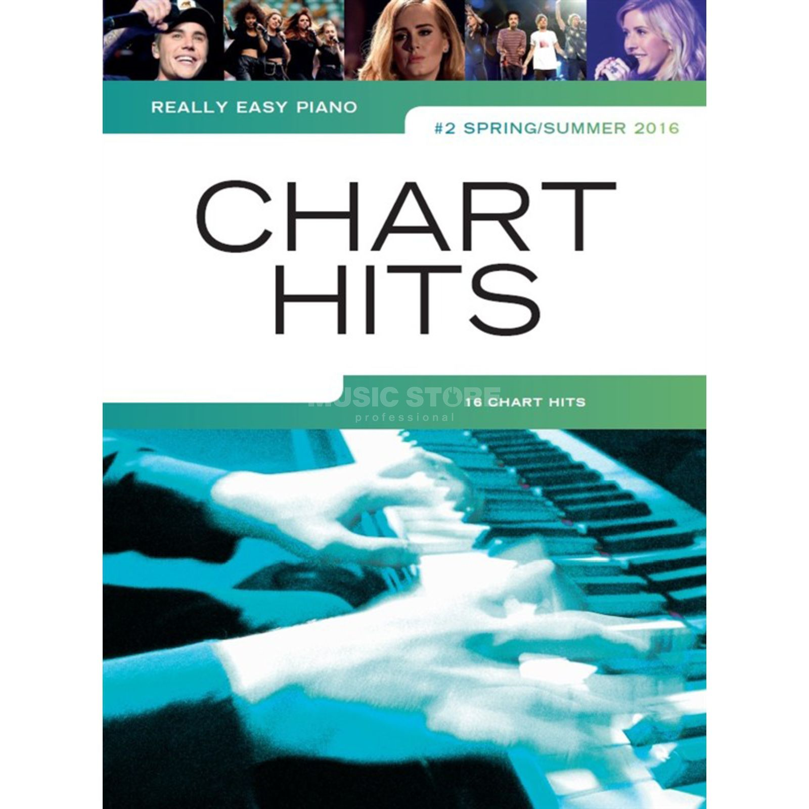 Wise Publications Really Easy Piano: Chart Hits Vol. 2 - Spring/Summer 2016 Produktbillede