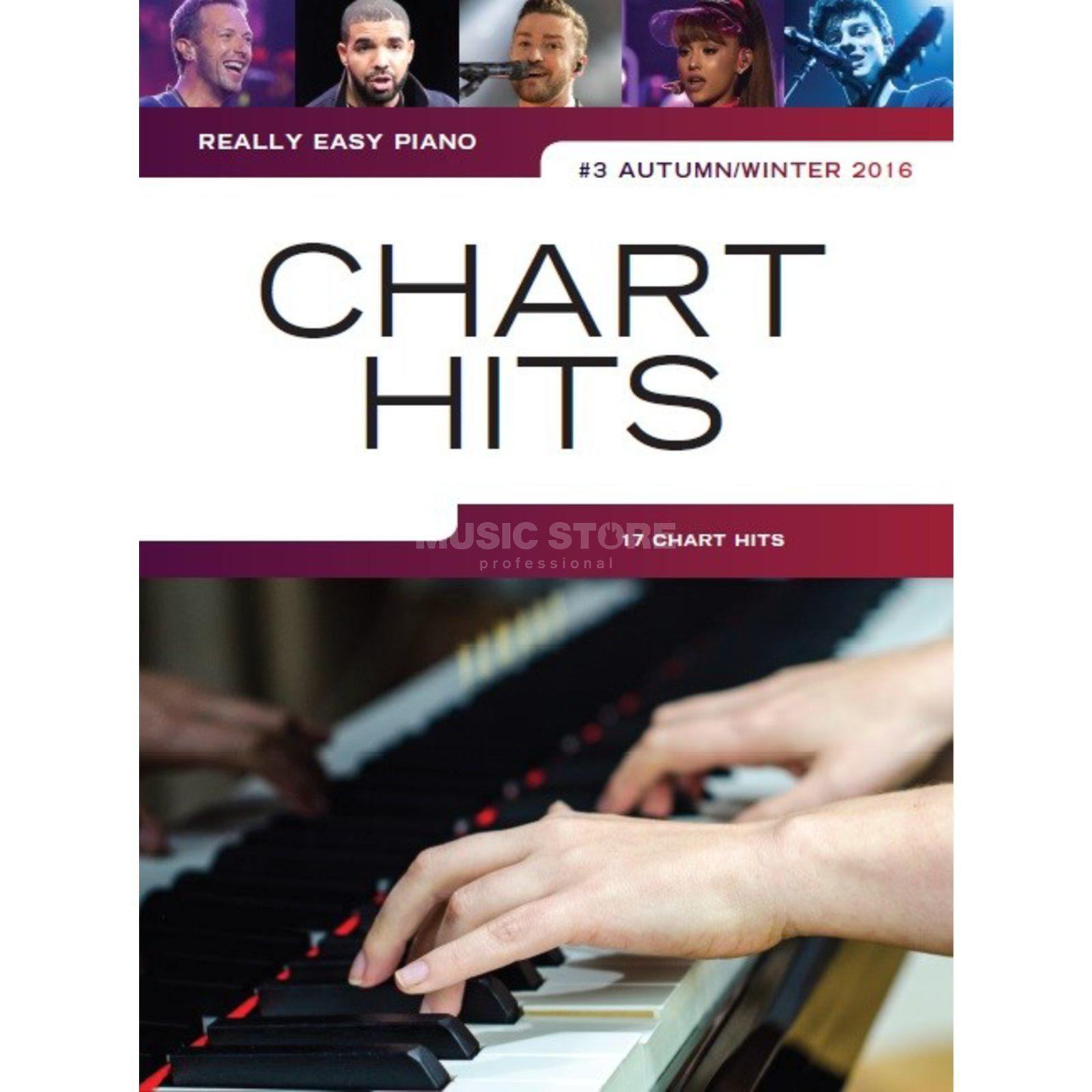 Wise Publications Really Easy Piano: Chart Hits Vol.3 (Autumn/Winter 2016) Produktbild