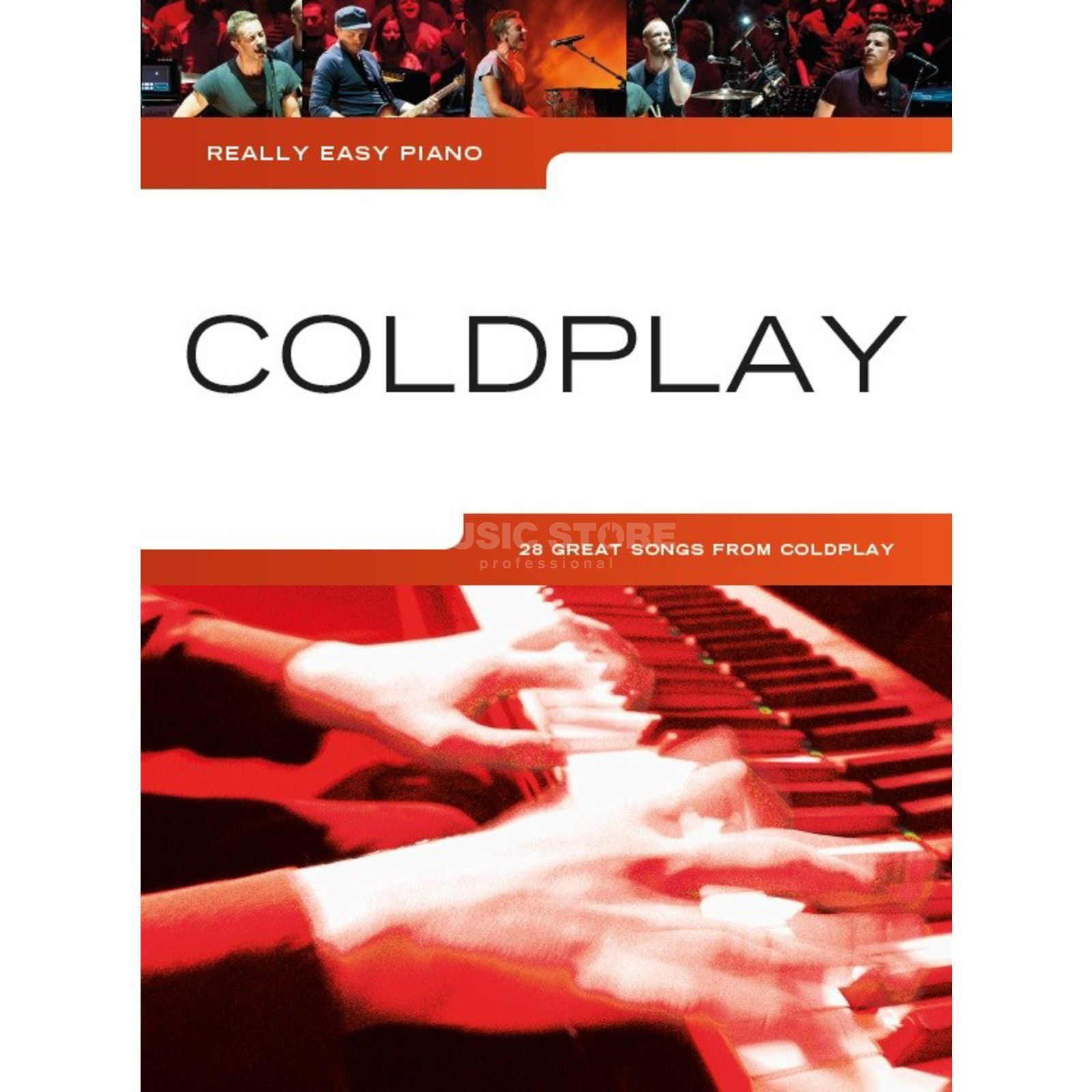Wise Publications Really Easy Piano: Coldplay  Produktbillede