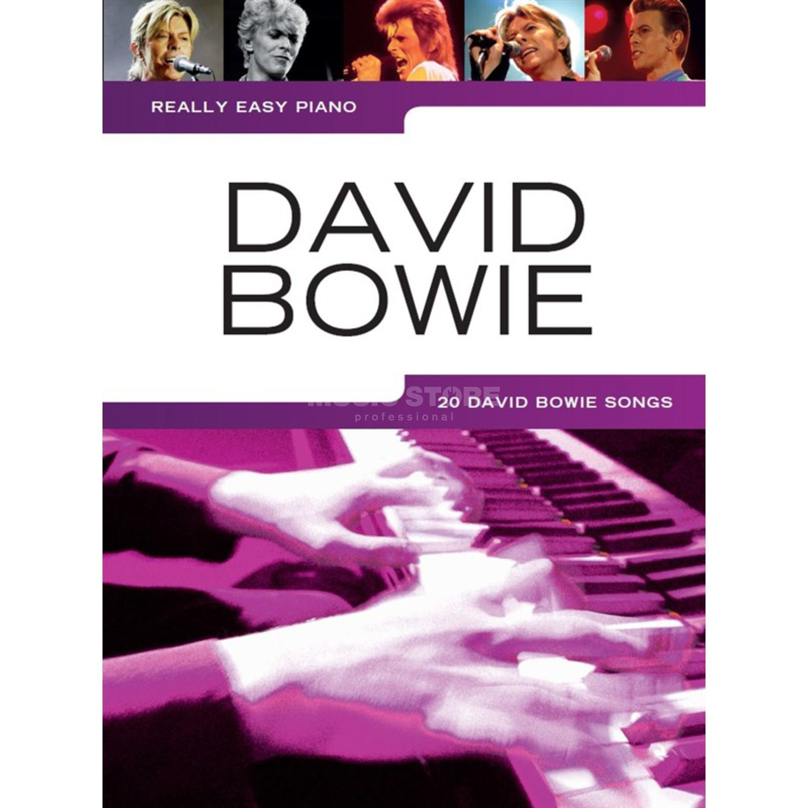 Wise Publications Really Easy Piano: David Bowie Image du produit
