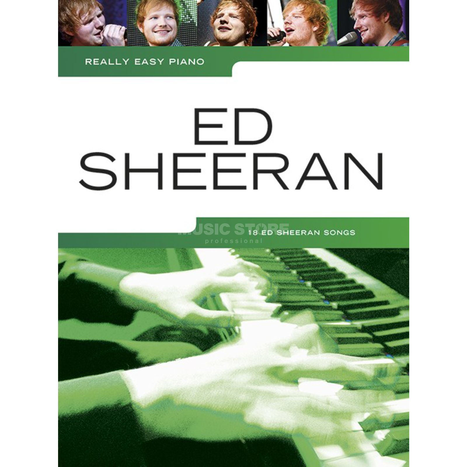 Wise Publications Really Easy Piano: Ed Sheeran Produktbillede